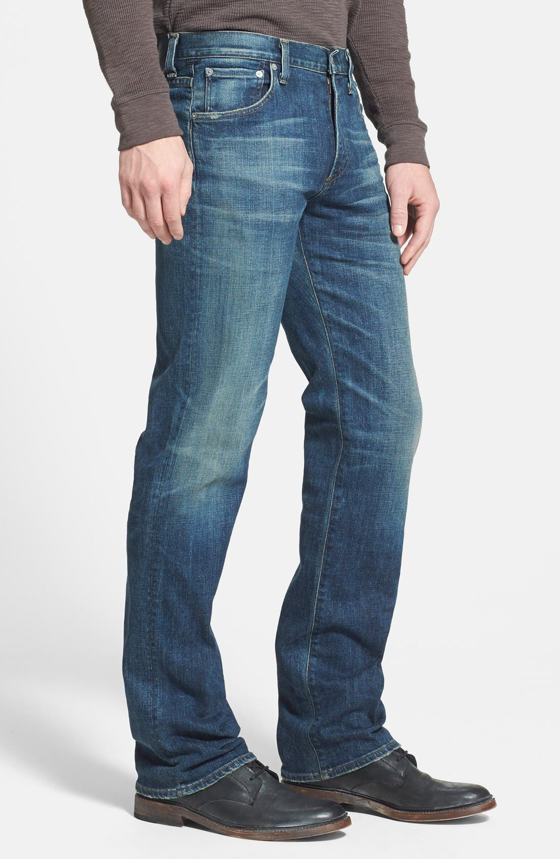 Alternate Image 3  - Citizens of Humanity 'Sid' Classic Straight Leg Jeans (Morrison)