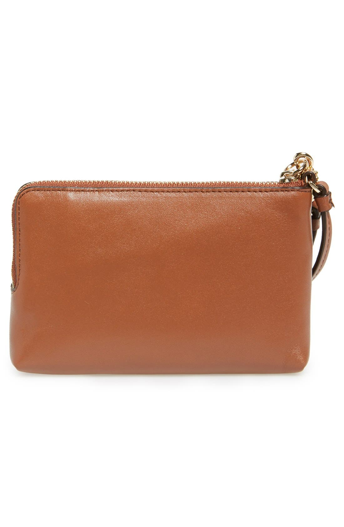 Alternate Image 3  - COACH Leather Wristlet