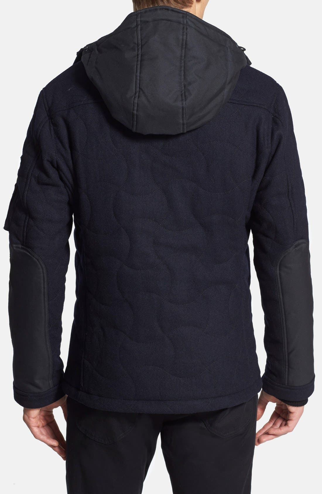 Alternate Image 2  - Spiewak 'Tarmak' Quilted Wool Blend Parka