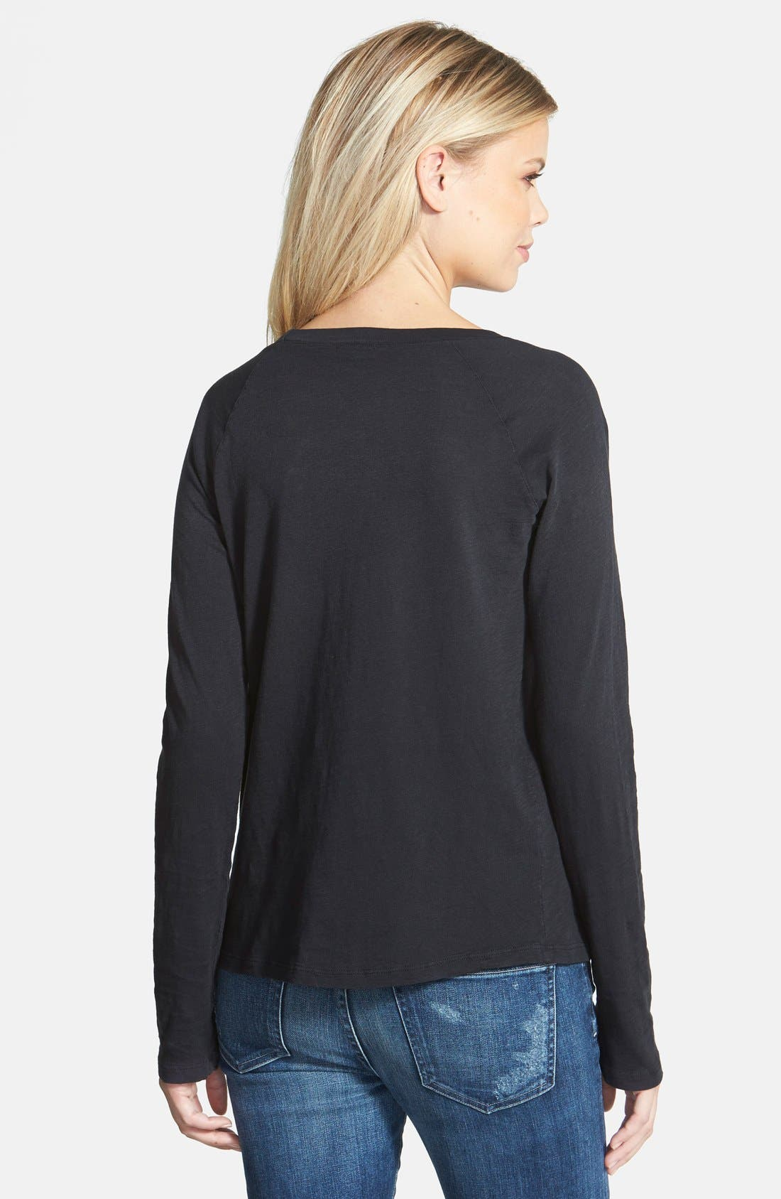 Alternate Image 2  - Splendid Long Sleeve Raglan Top