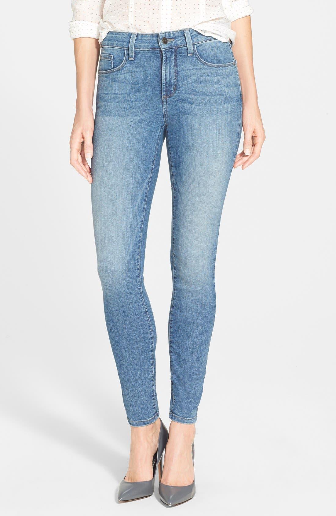 Main Image - NYDJ 'Ami' Stretch Super Skinny Jeans (Bellevue)