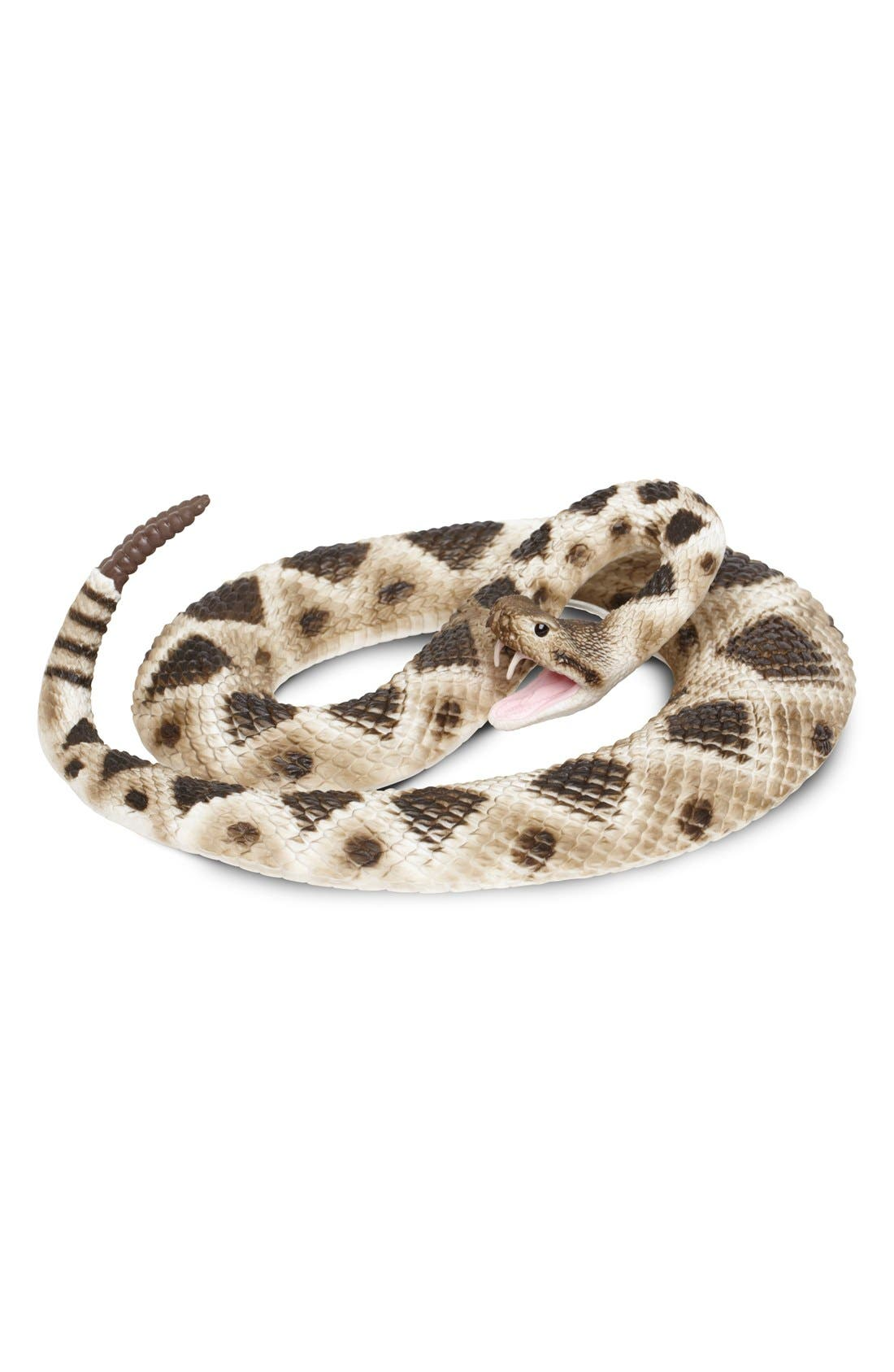 Alternate Image 1 Selected - Safari Ltd. Diamondback Rattlesnake Figurine