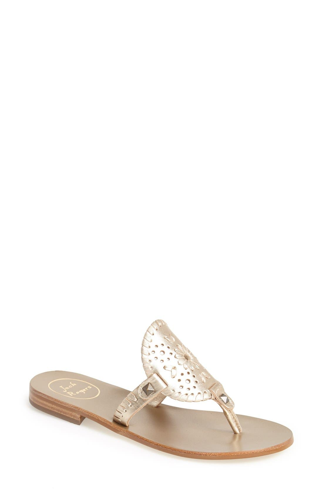 Alternate Image 1 Selected - Jack Rogers 'Georgica' Sandals (Women)