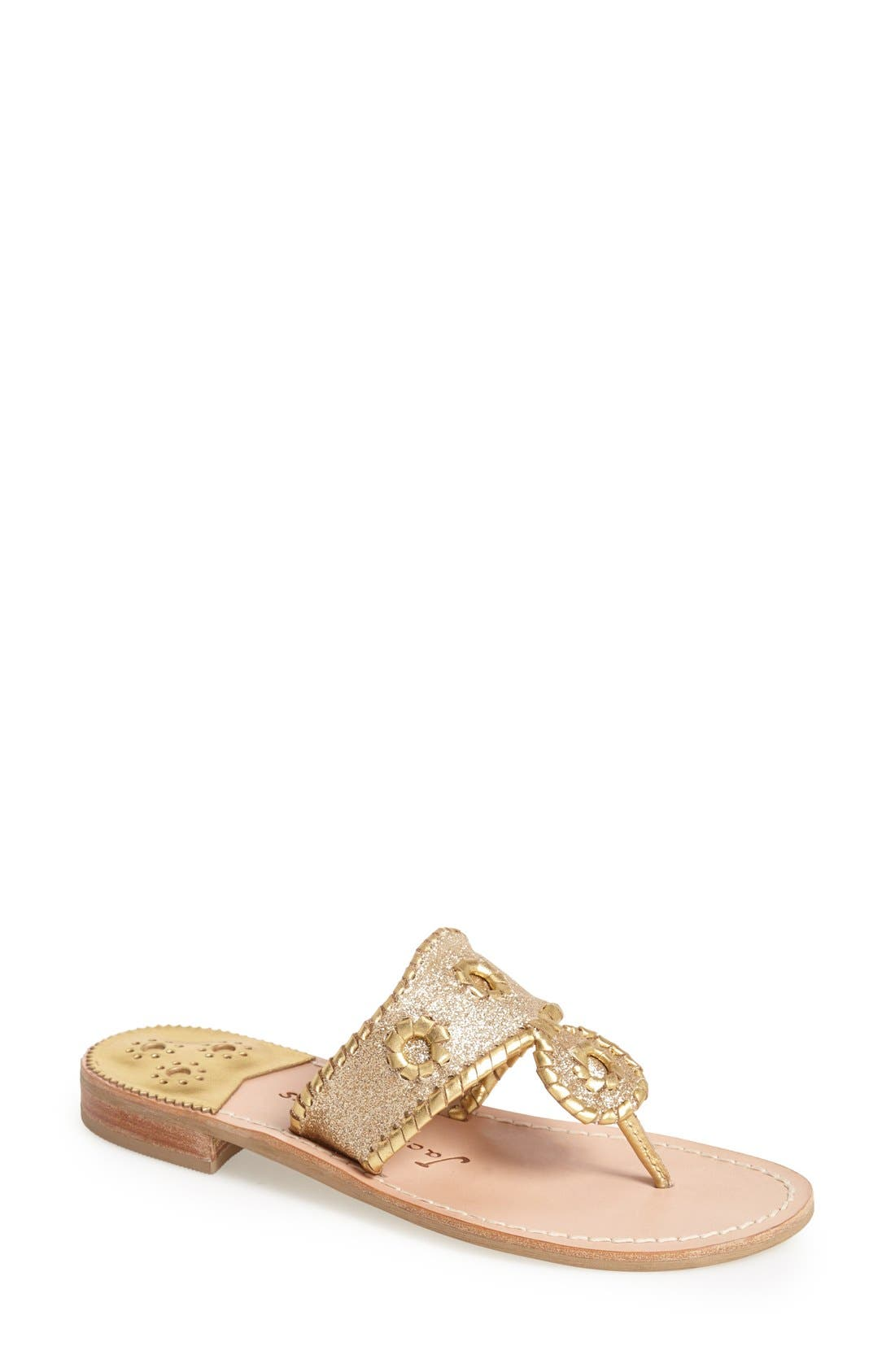 Alternate Image 1 Selected - Jack Rogers 'Sparkle' Sandal (Women)