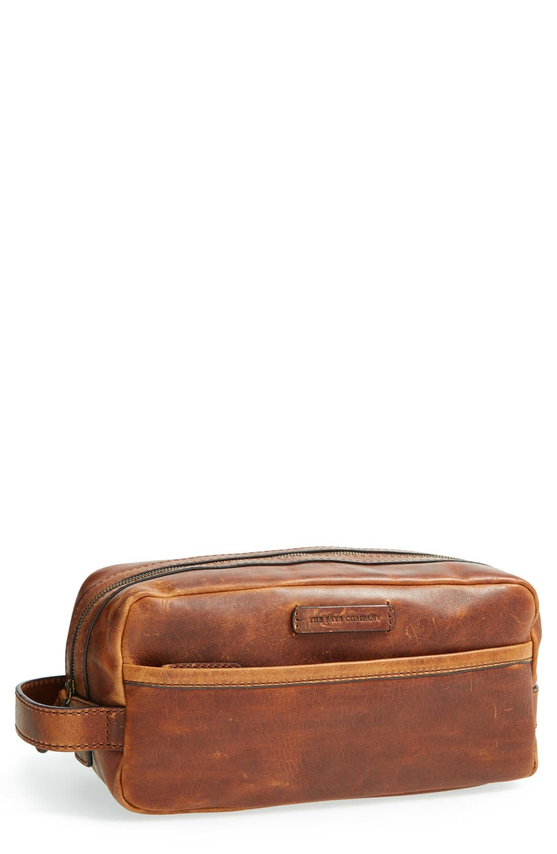 Alternate Image 1 Selected - Frye 'Logan' Leather Travel Kit