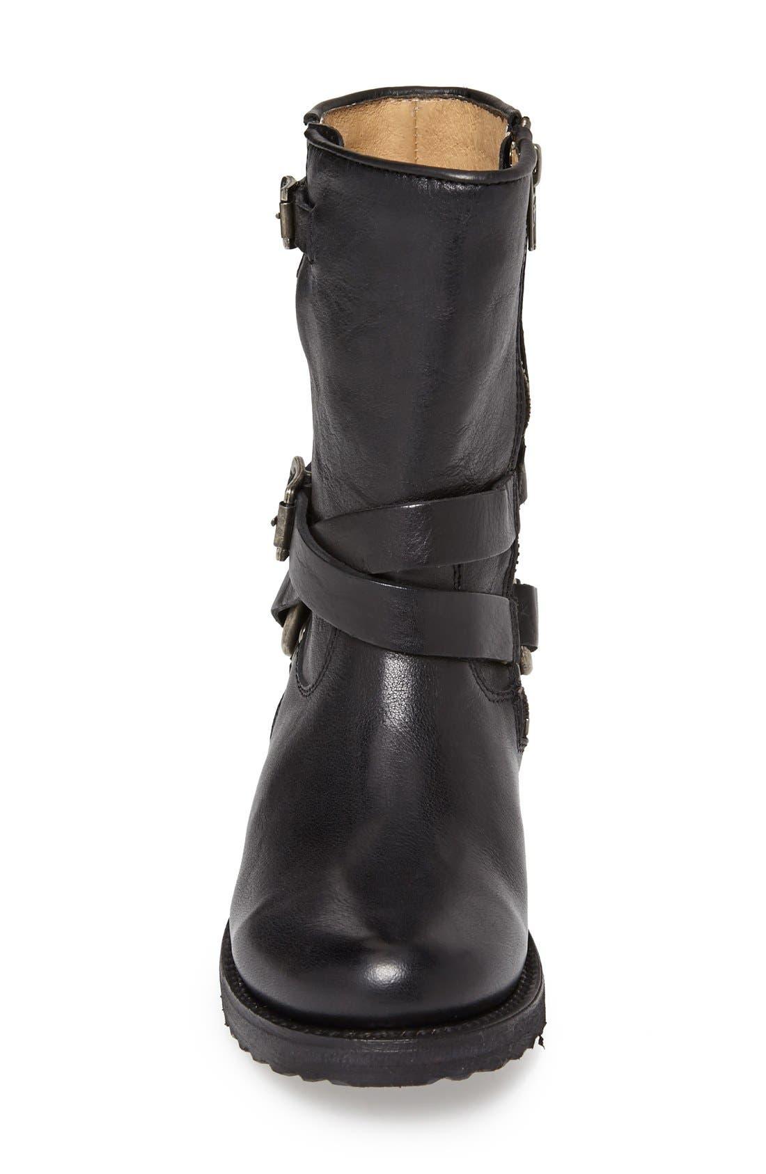 Alternate Image 3  - Frye 'Veronica' Crisscross Strap Short Leather Boot (Women)
