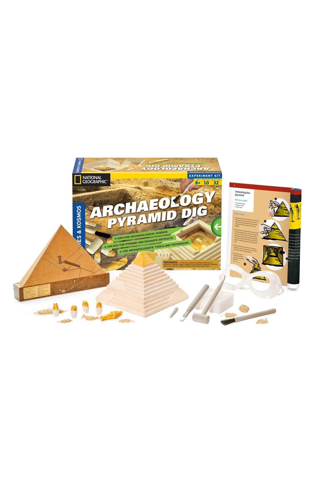 'Archaeology: Pyramid Dig 2.0' Play Kit,                         Main,                         color, None