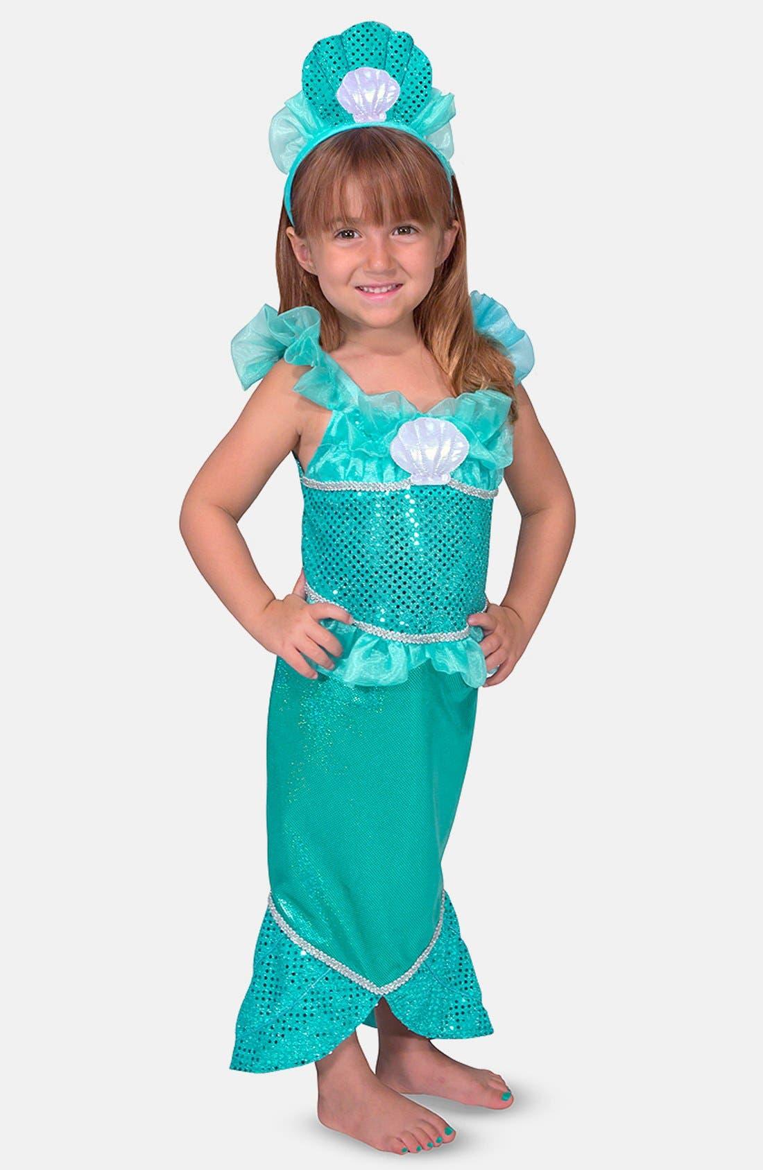 Mermaid Role Play Set,                             Main thumbnail 1, color,                             Green