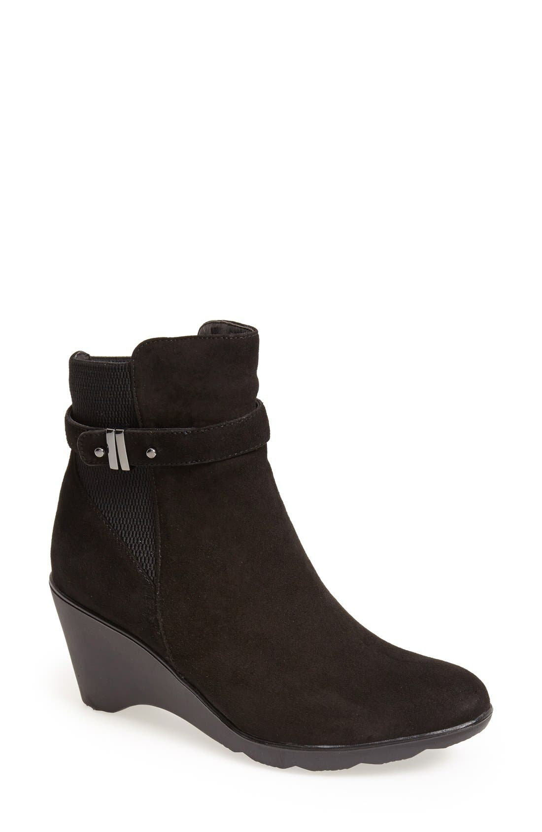 Blondo 'Liberata' Waterproof Suede Bootie (Women)