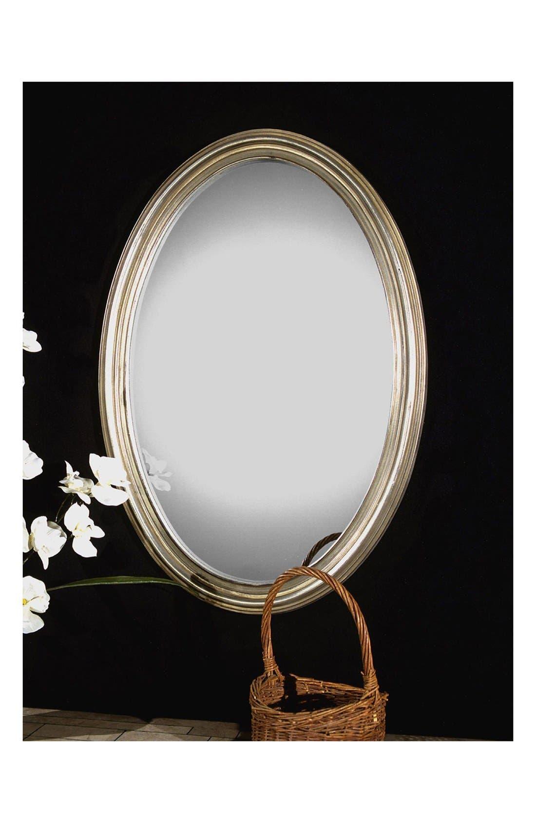 'Franklin' Wall Mirror,                             Alternate thumbnail 2, color,                             Silver