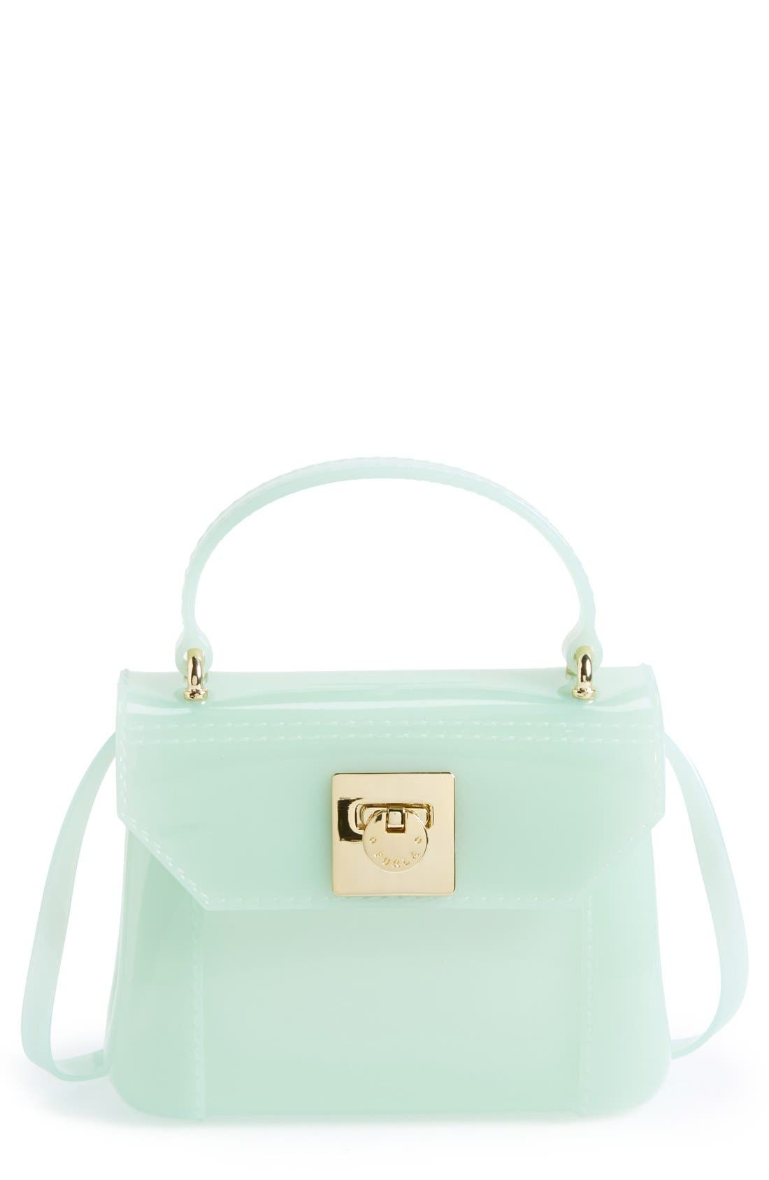 Main Image - Furla 'Candy - Mini' Top Handle Crossbody Bag
