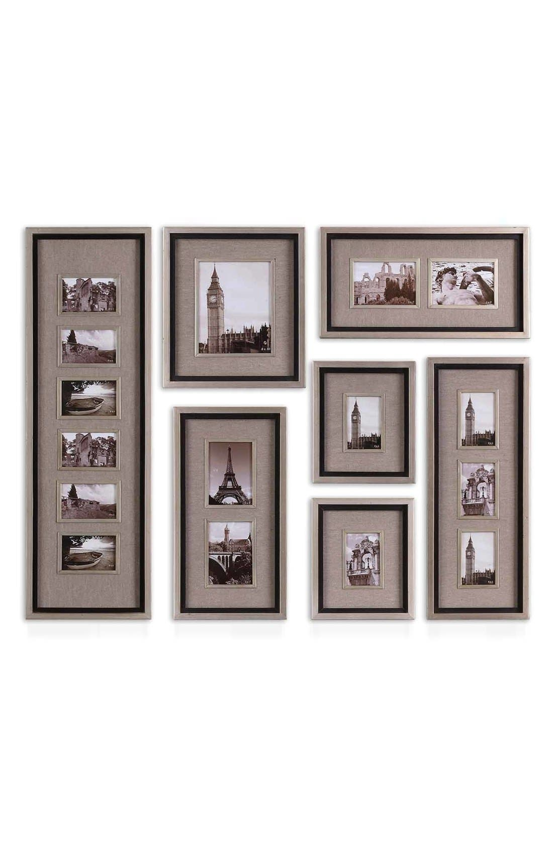 Picture frames nordstrom uttermost massena set of 7 picture frames jeuxipadfo Images