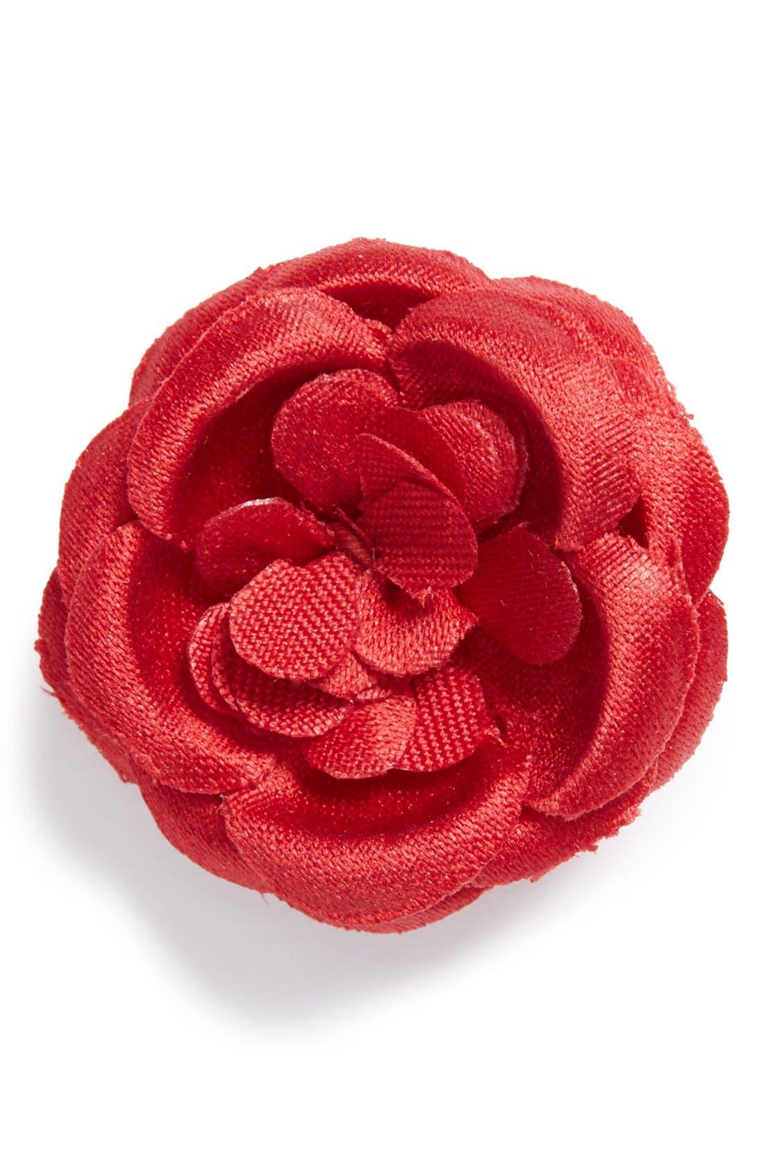 Lapel Flower,                         Main,                         color, Fire
