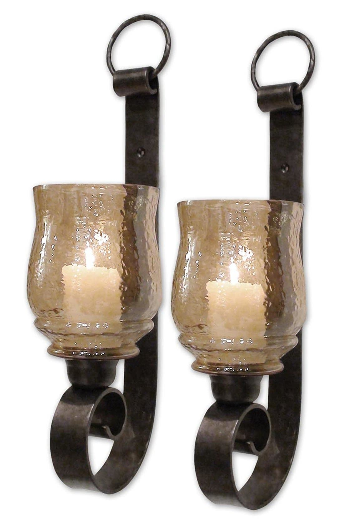 Main Image - Uttermost 'Joselyn - Small' Wall Sconces (Set of 2)