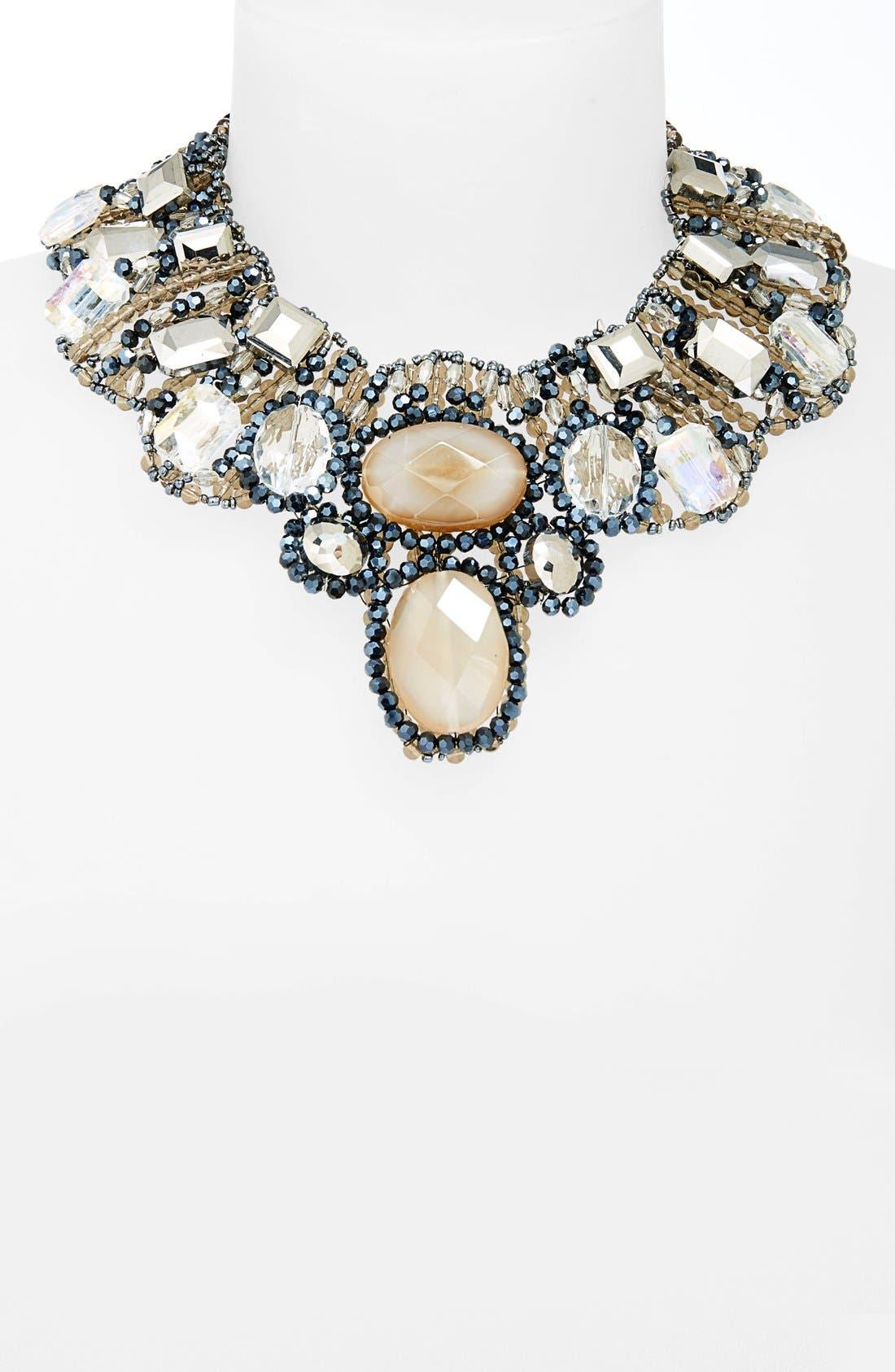 Alternate Image 2  - Tasha 'Dreamy' Ribbon Collar Necklace