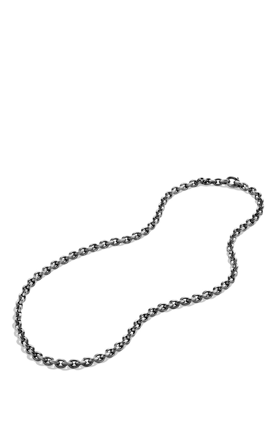 'Knife Edge' Chain Necklace,                             Alternate thumbnail 2, color,                             Silver