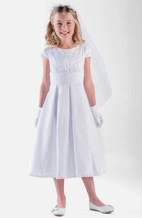 3fe79fd2adf1 Girls  White Dresses   Rompers