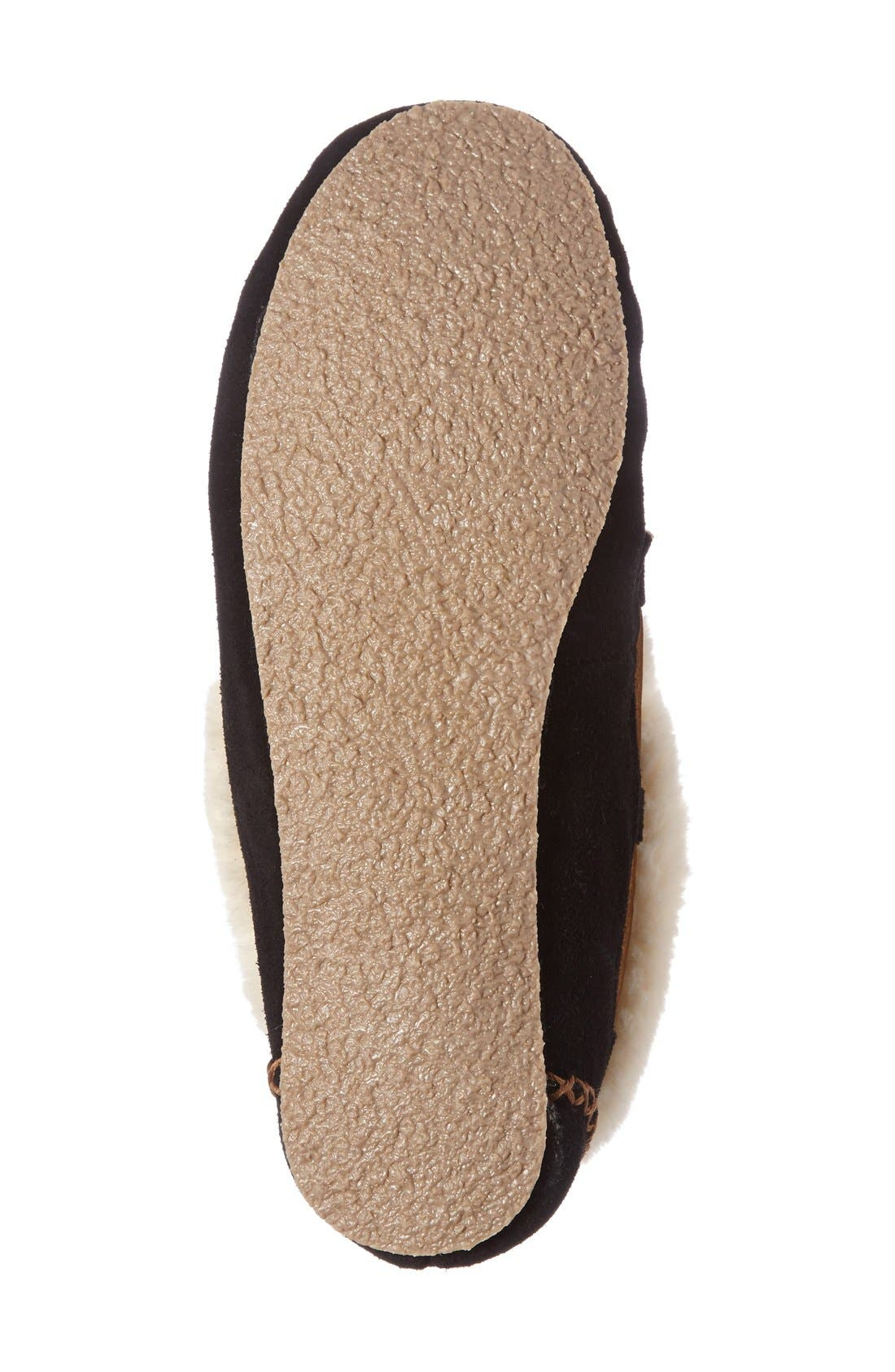 'Chrissy' Slipper Bootie,                             Alternate thumbnail 4, color,                             Black