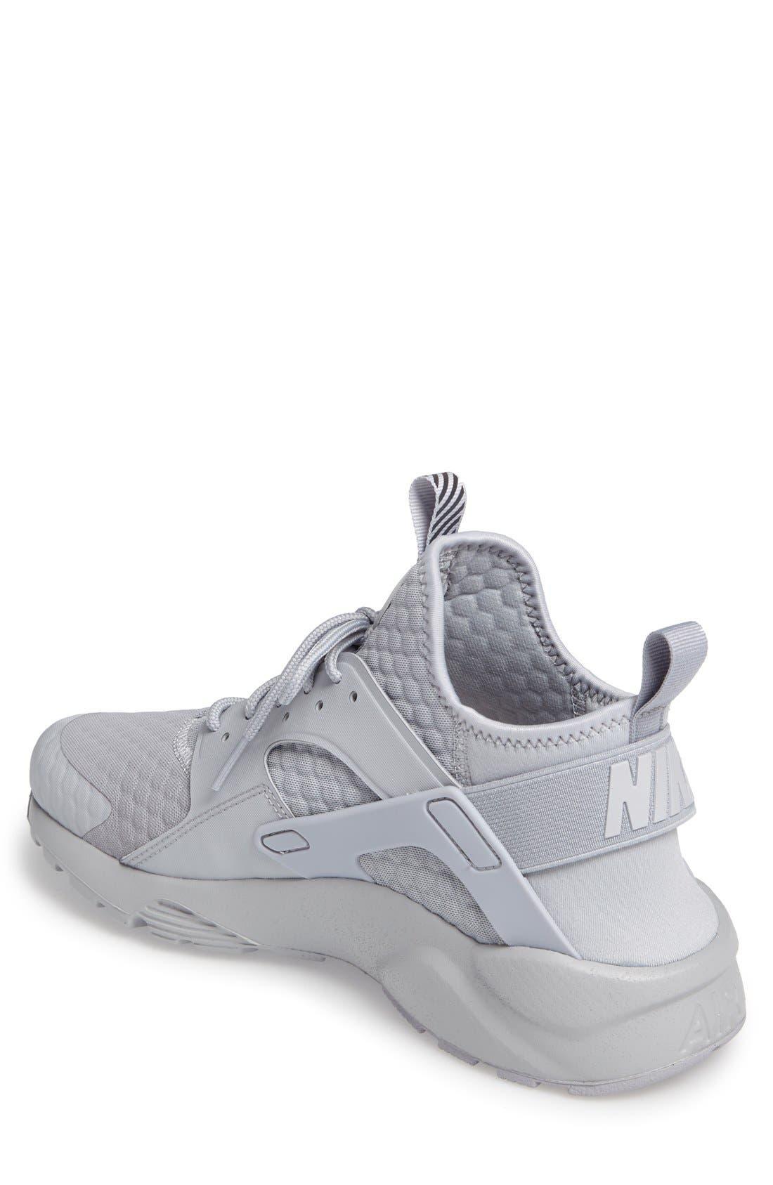 Alternate Image 2  - Nike Huarache Run Ultra SE Premium Sneaker (Men)