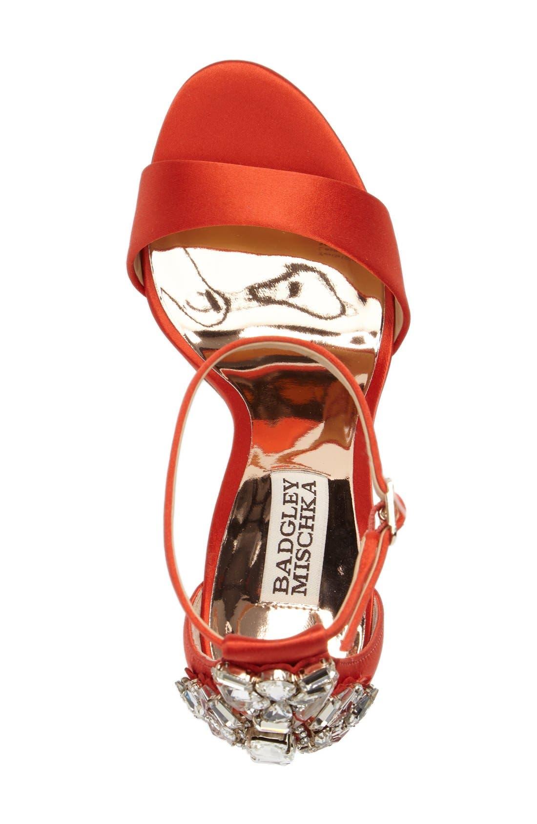 Alternate Image 3  - Badgley Mischka Bartley Ankle Strap Sandal (Women)