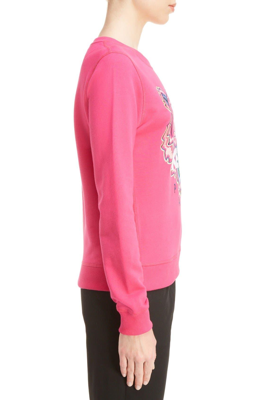 Alternate Image 3  - KENZO Embroidered Tiger Cotton Sweatshirt