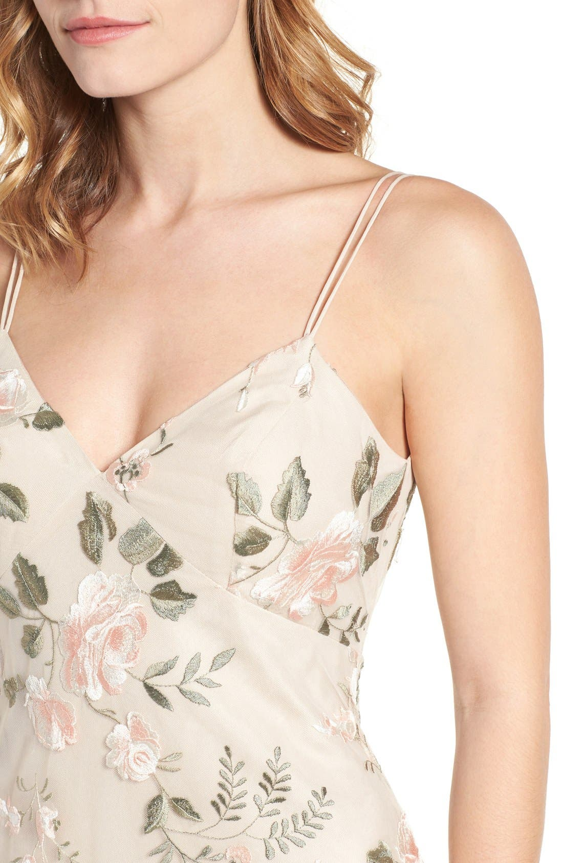 Alternate Image 5  - Jenny Yoo Julianna Embroidered Gown