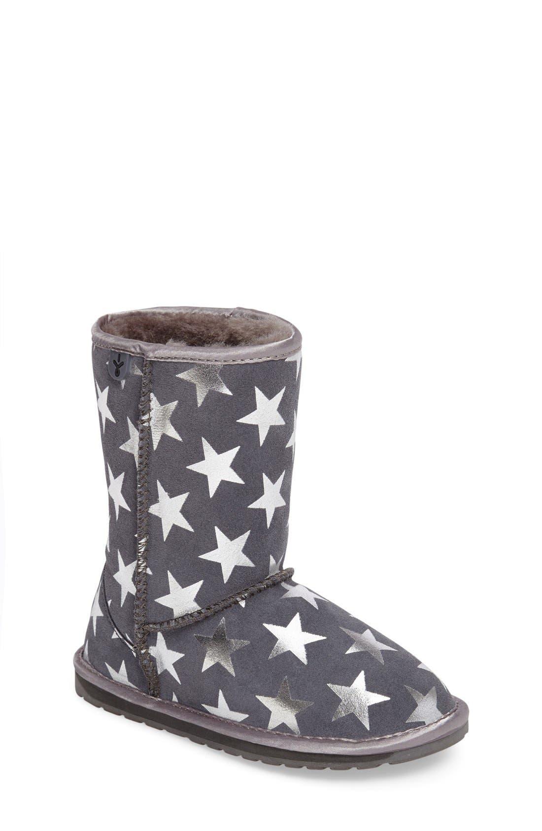 Alternate Image 1 Selected - EMUAustralia 'Starry Night' Boot (Toddler, Little Kid & Big Kid)