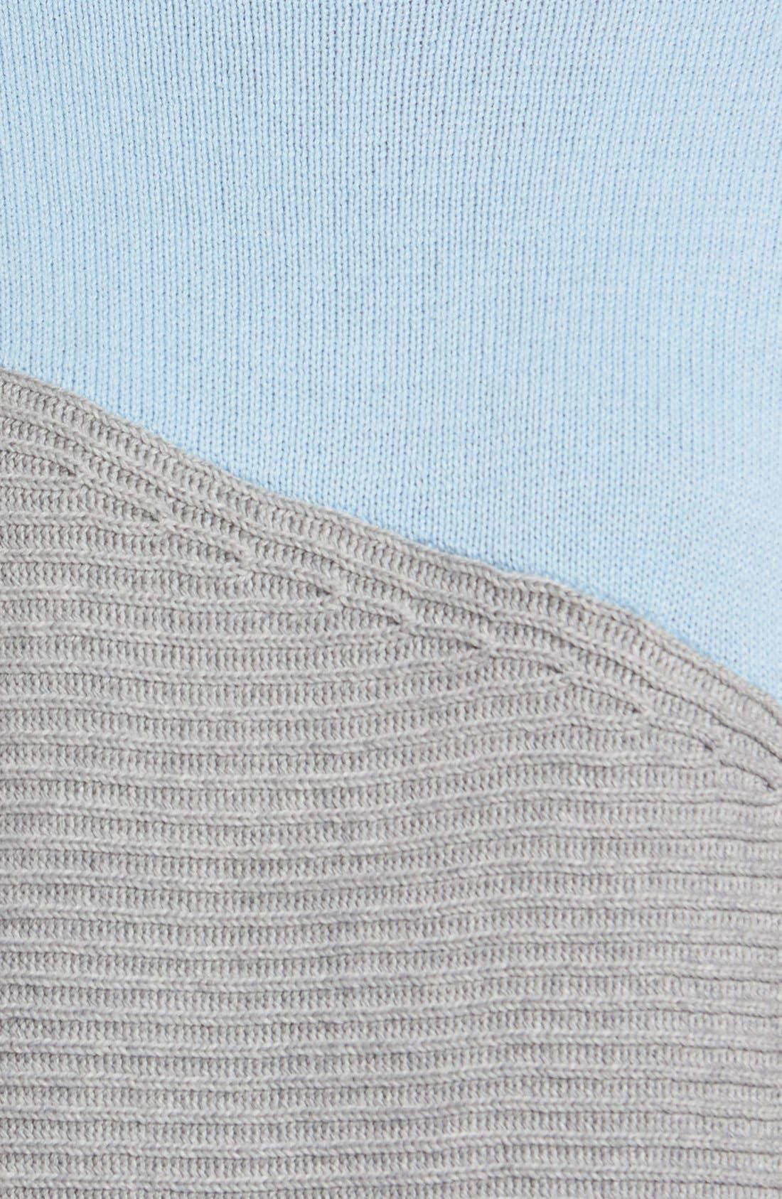 Alternate Image 5  - Vince Camuto Colorblock Turtleneck Sweater (Regular & Petite)