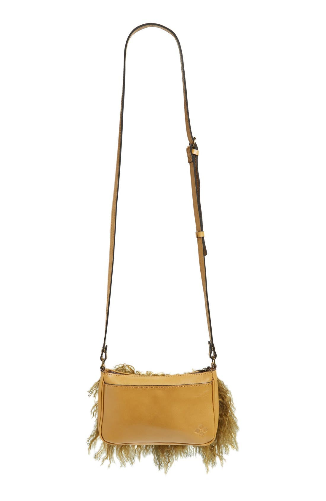 Alternate Image 3  - Patricia Nash Small Paulo Genuine Shearling Crossbody Bag