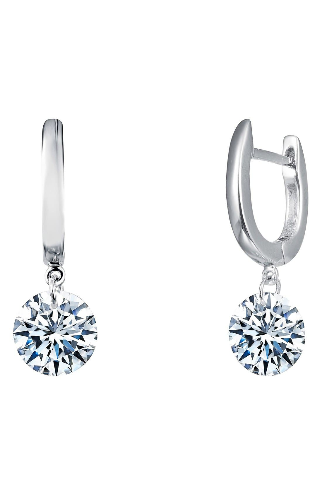 In Motion Drop Earrings,                         Main,                         color, Silver
