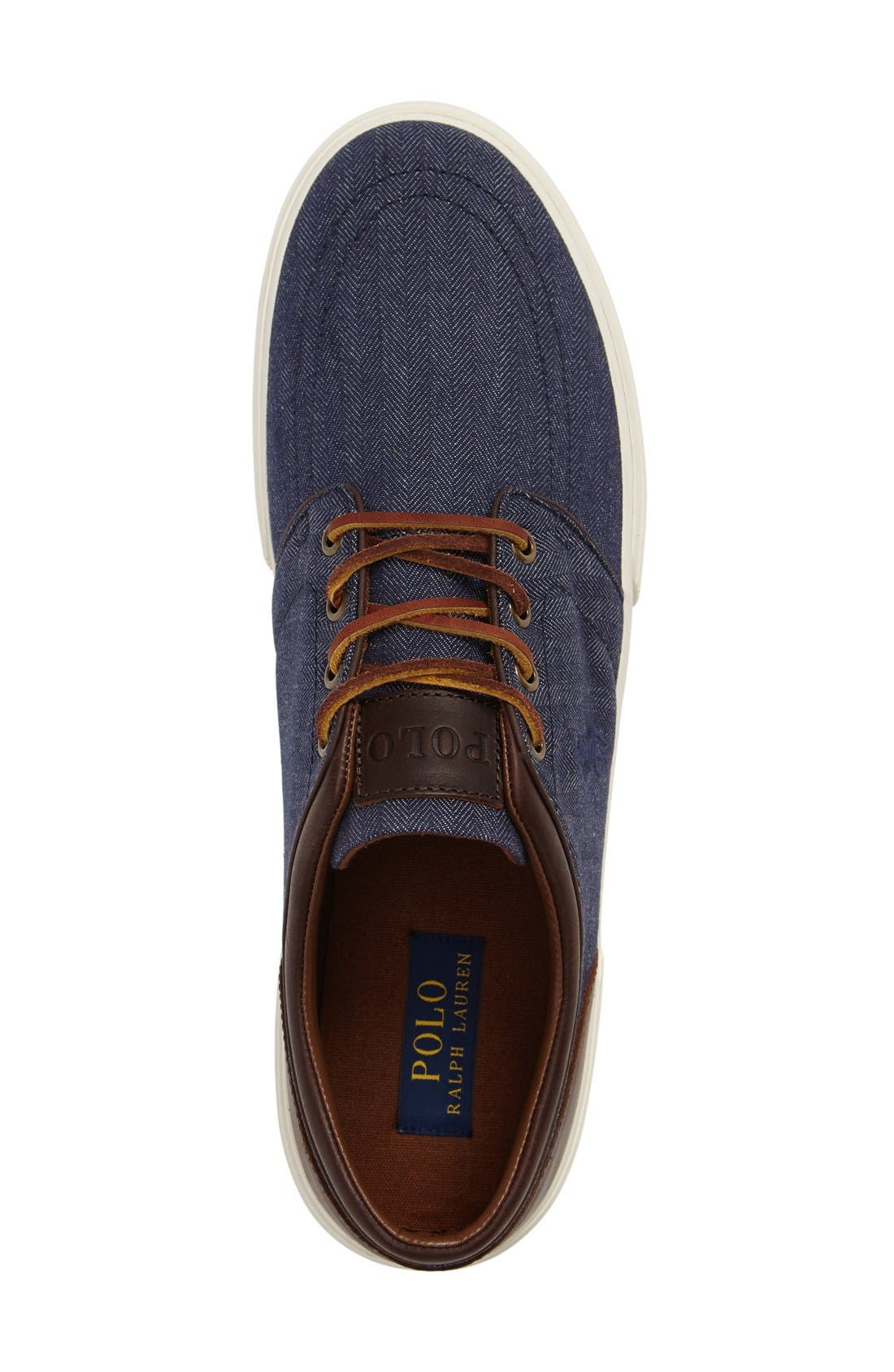 Alternate Image 3  - Polo Ralph Lauren 'Faxon Low' Sneaker (Men)