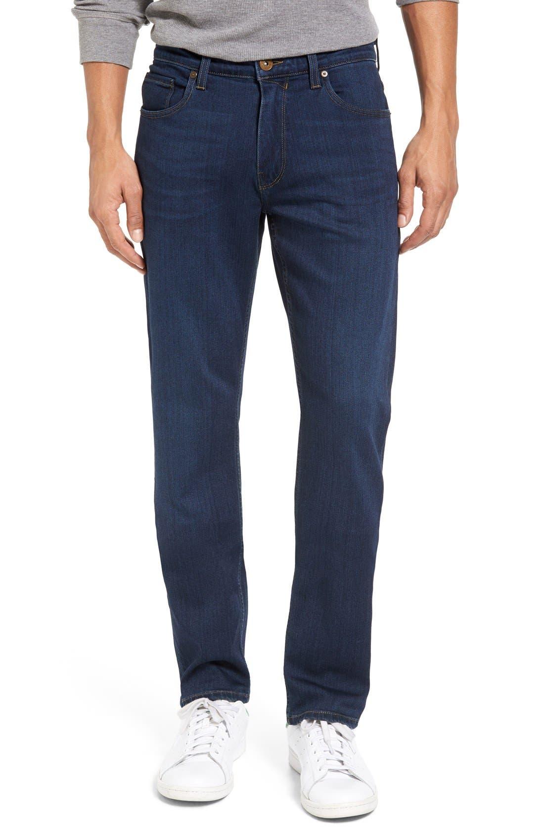Main Image - PAIGE Transcend - Federal Slim Straight Leg Jeans (Scott)