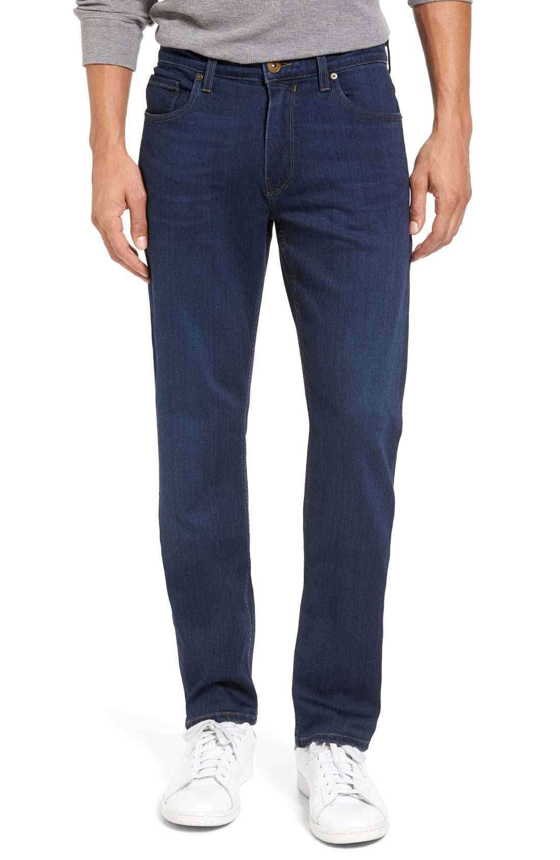 PAIGE Transcend - Federal Slim Straight Leg Jeans (Scott)