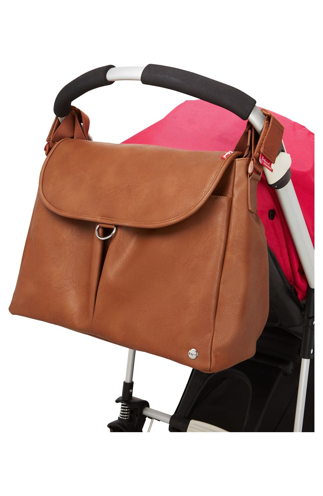 Alternate Image 7  - Babymel Ally Faux Leather Diaper Bag