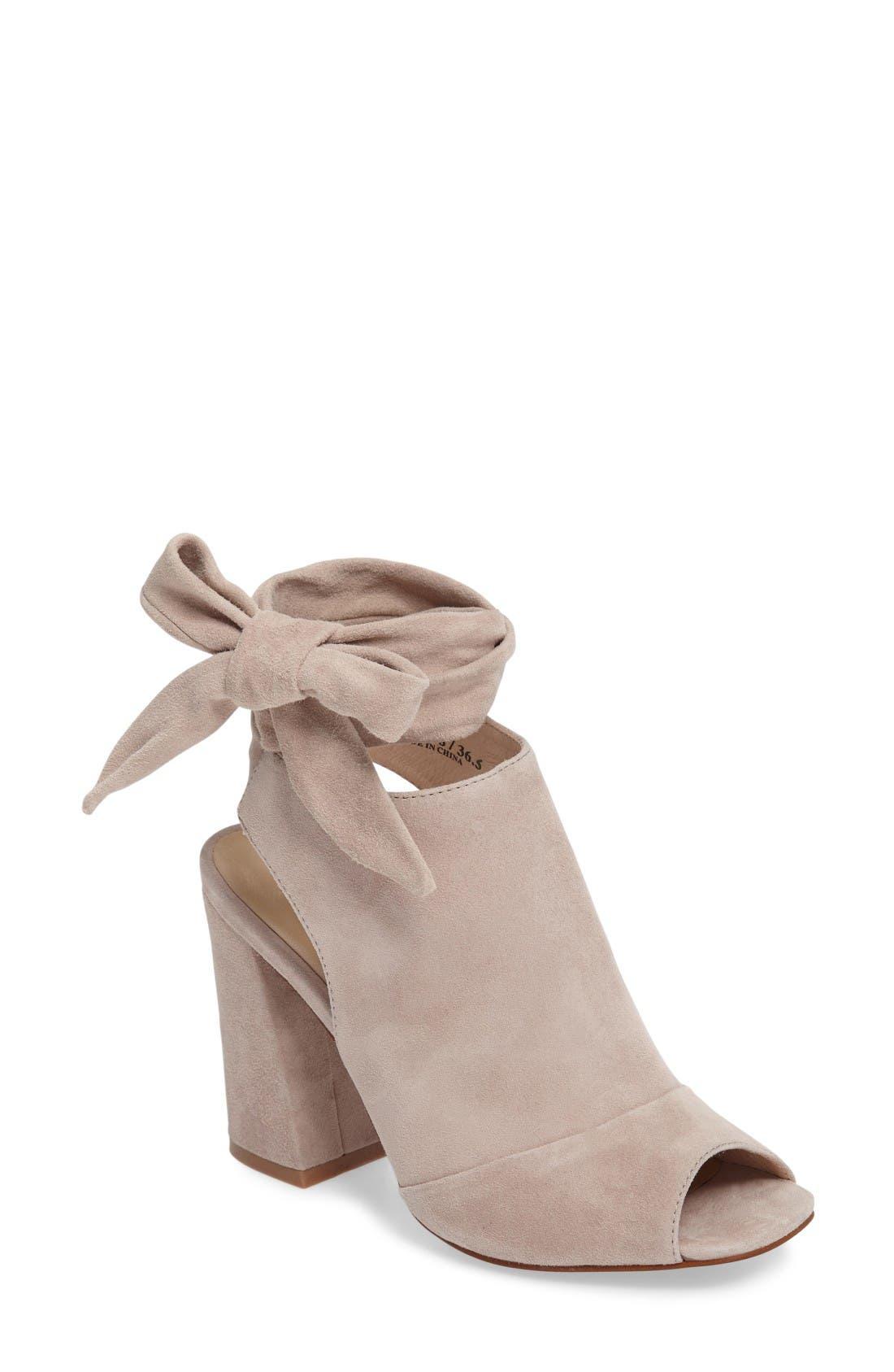 Kristin Cavallari Leeds Peep Toe Bootie (Women)