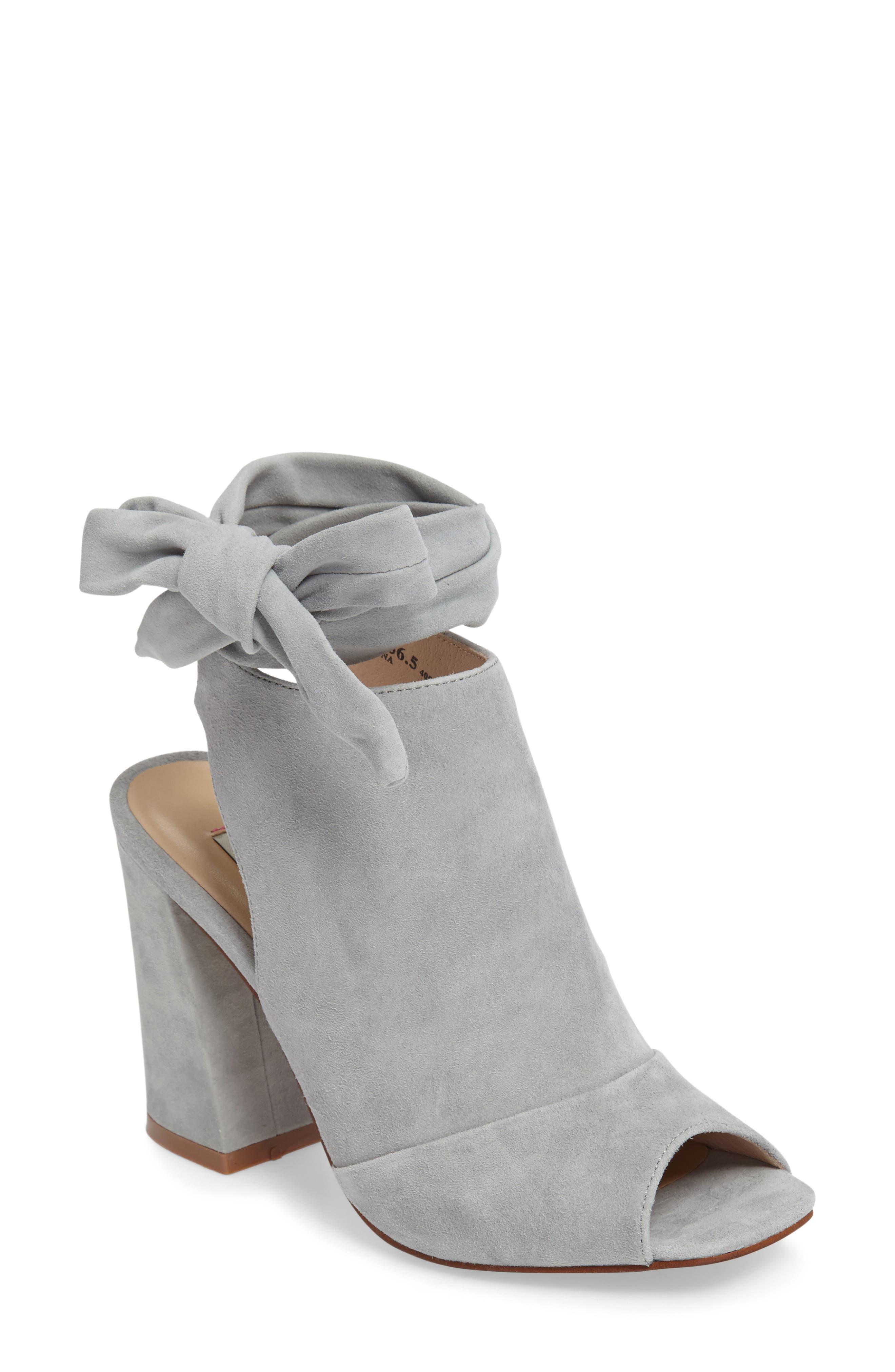 Alternate Image 1 Selected - Kristin Cavallari Leeds Peep Toe Bootie (Women)