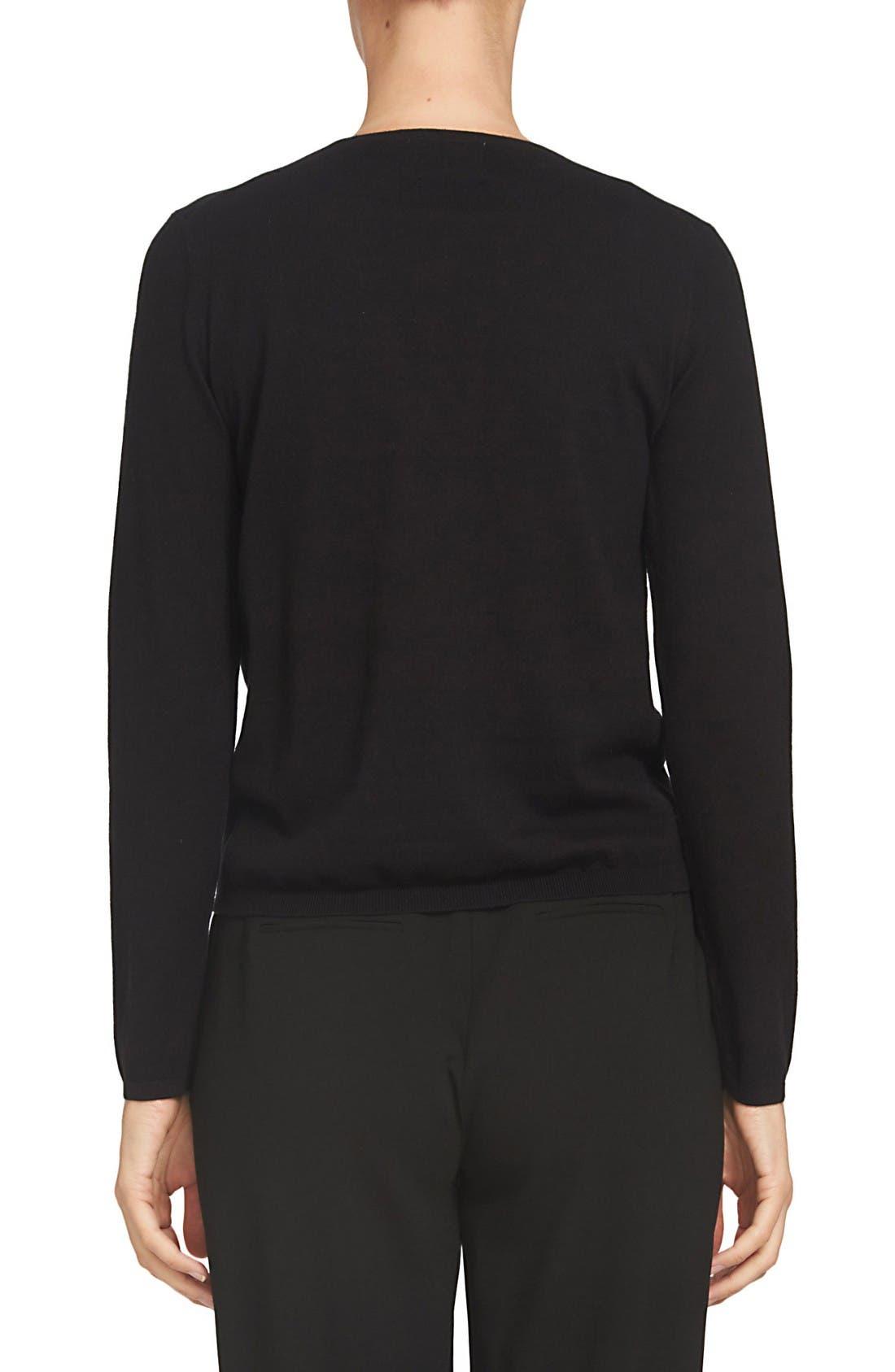 Alternate Image 2  - CeCe Bow Intarsia Sweater