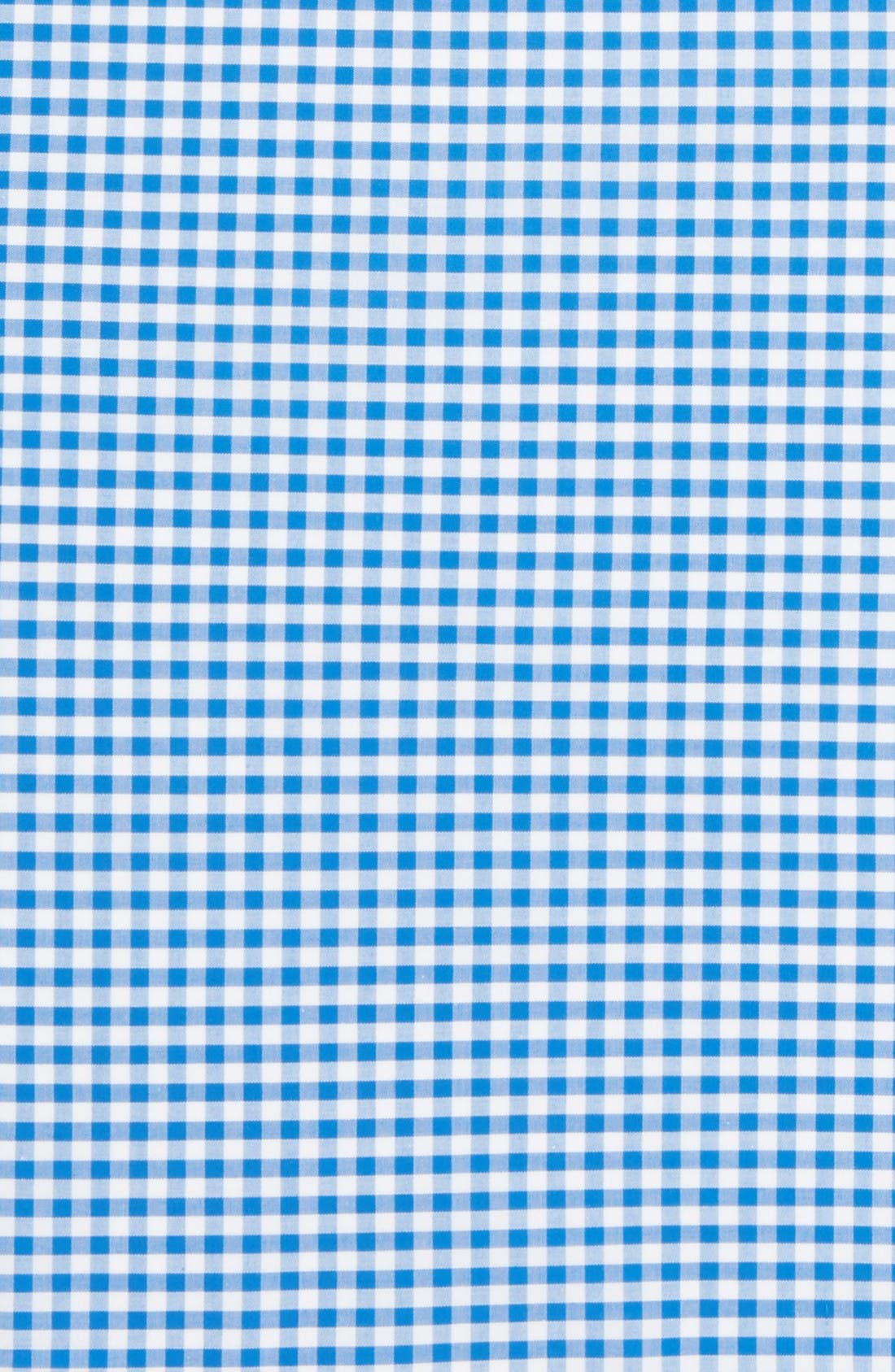 Alternate Image 3  - The Tie Bar Cotton Gingham Pocket Square (Online Only)