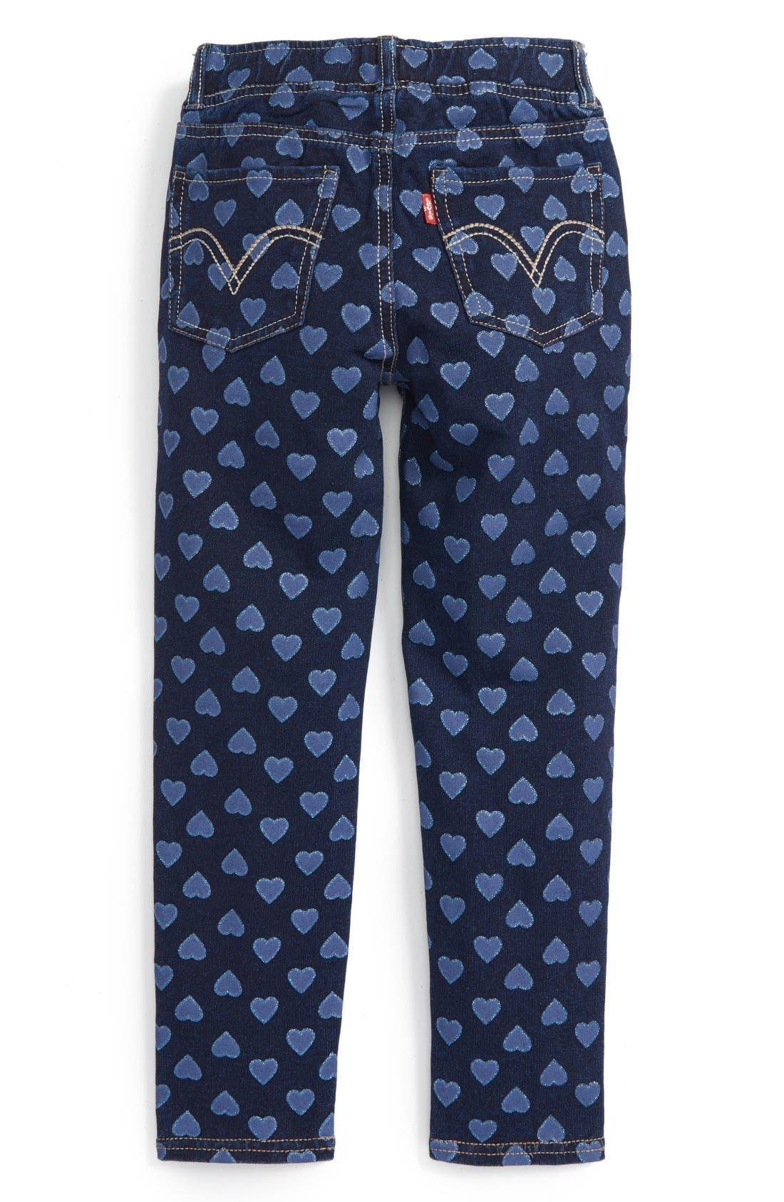 Haley May Leggings,                             Alternate thumbnail 2, color,                             Baltic Blue