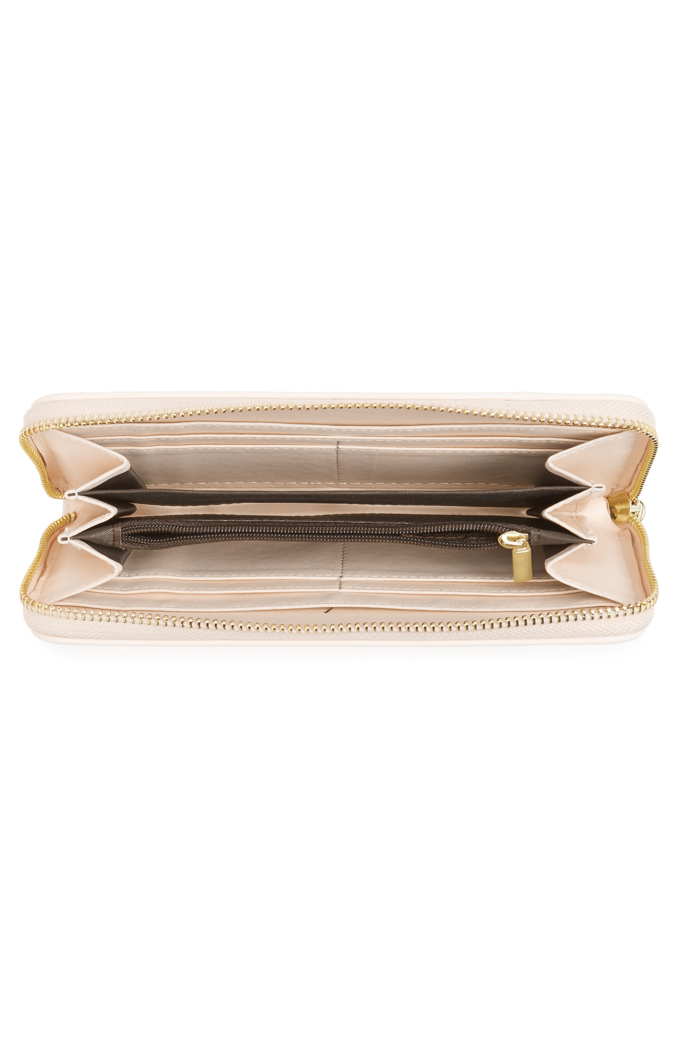 Alternate Image 4  - Emperia Marsha Faux Leather Wallet