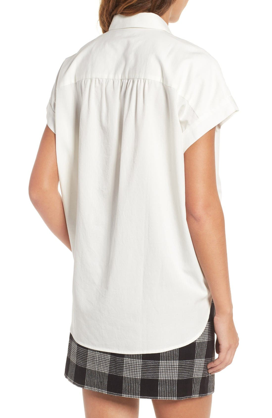 Alternate Image 2  - Madewell Central Blouse