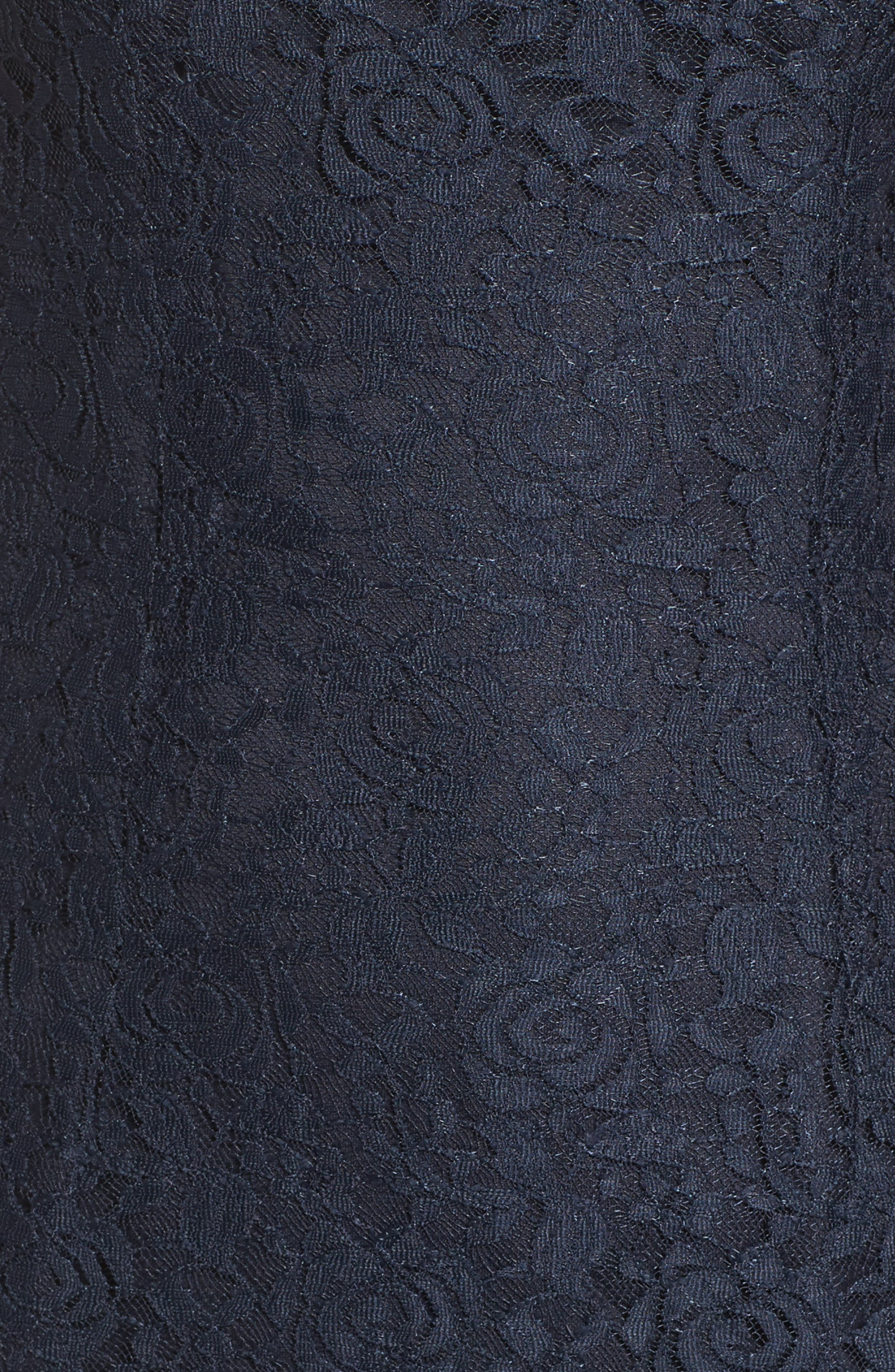 Alternate Image 5  - Lulus Cowl Back Lace Mermaid Gown
