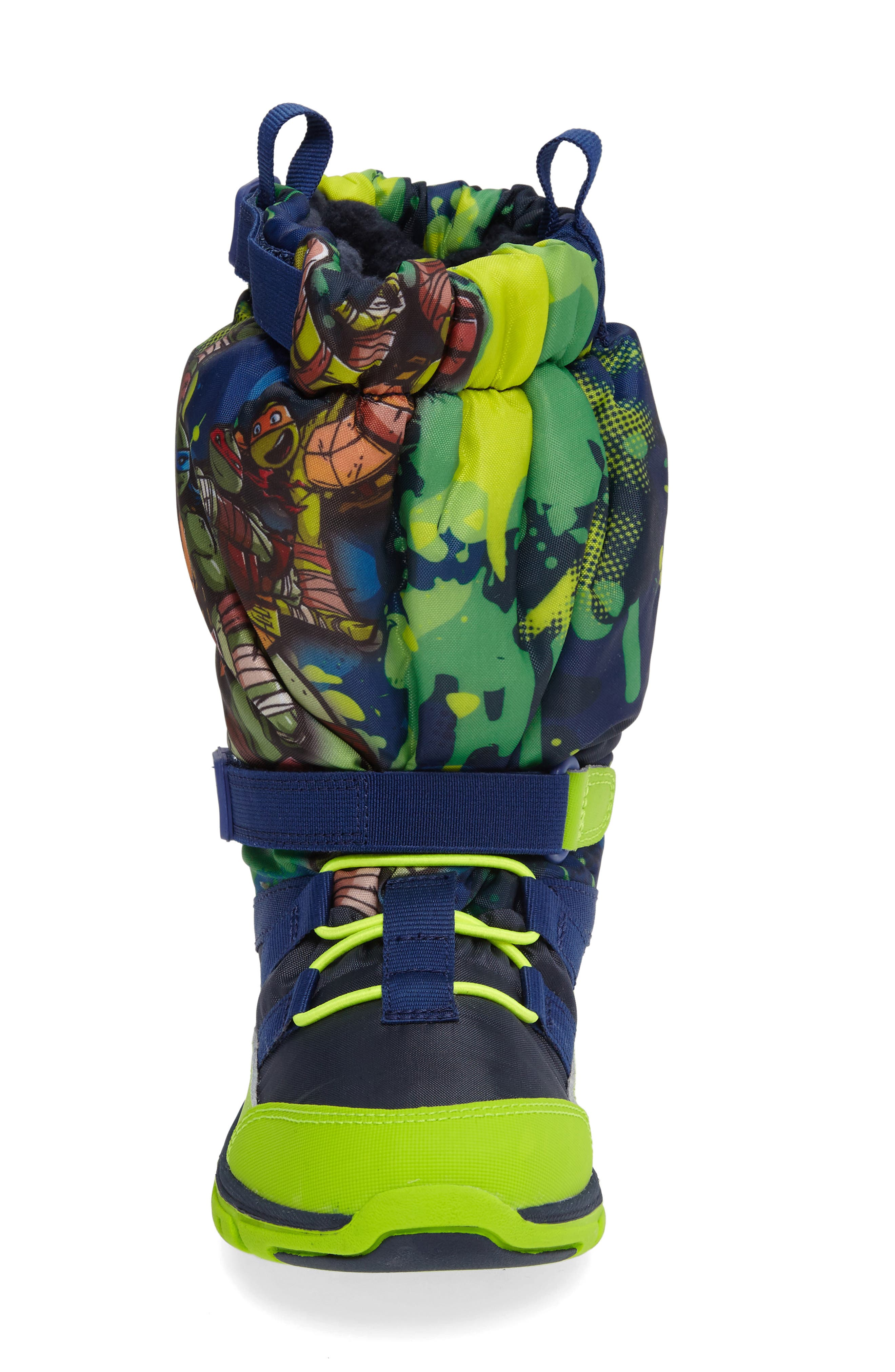 Alternate Image 3  - Stride Rite Made2Play Teenage Mutant Ninja Turtles Sneaker Boot (Baby, Walker, Toddler & Little Kid)
