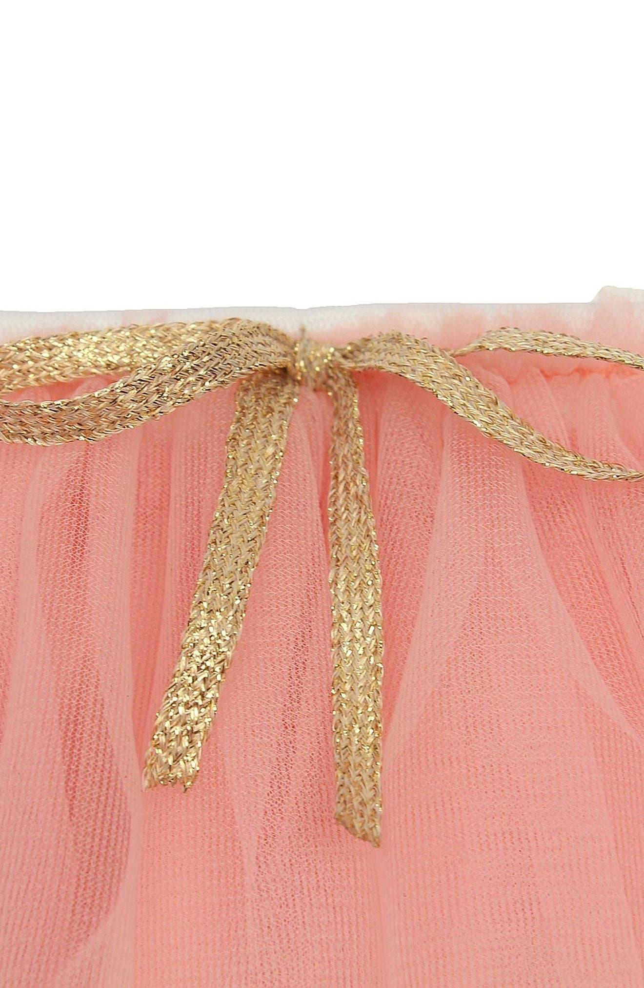 Tutu Skirt,                             Alternate thumbnail 2, color,                             Peach