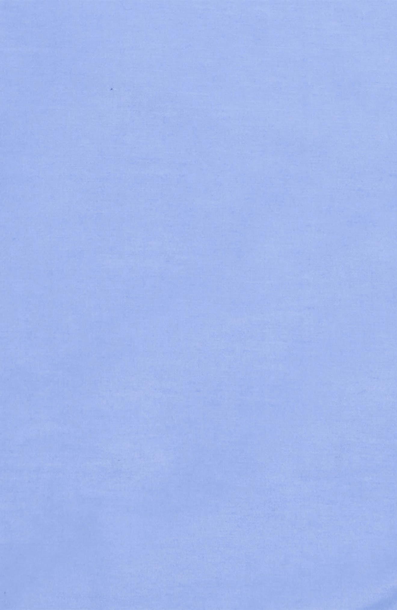 Solid Cotton & Silk Pocket Square,                             Alternate thumbnail 3, color,                             Light Blue