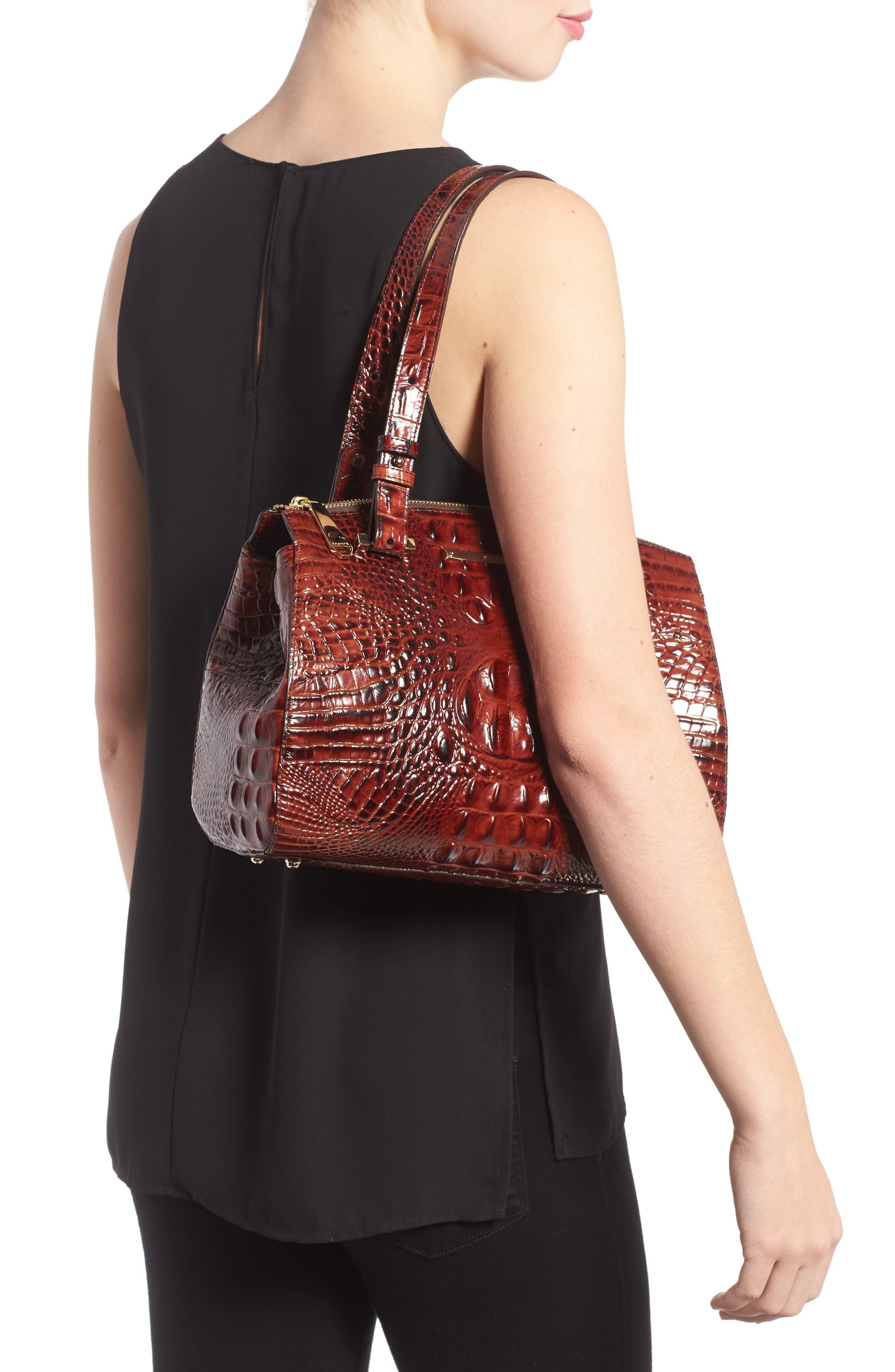 Alternate Image 2  - Brahmin Small Alice Melbourne Leather Satchel