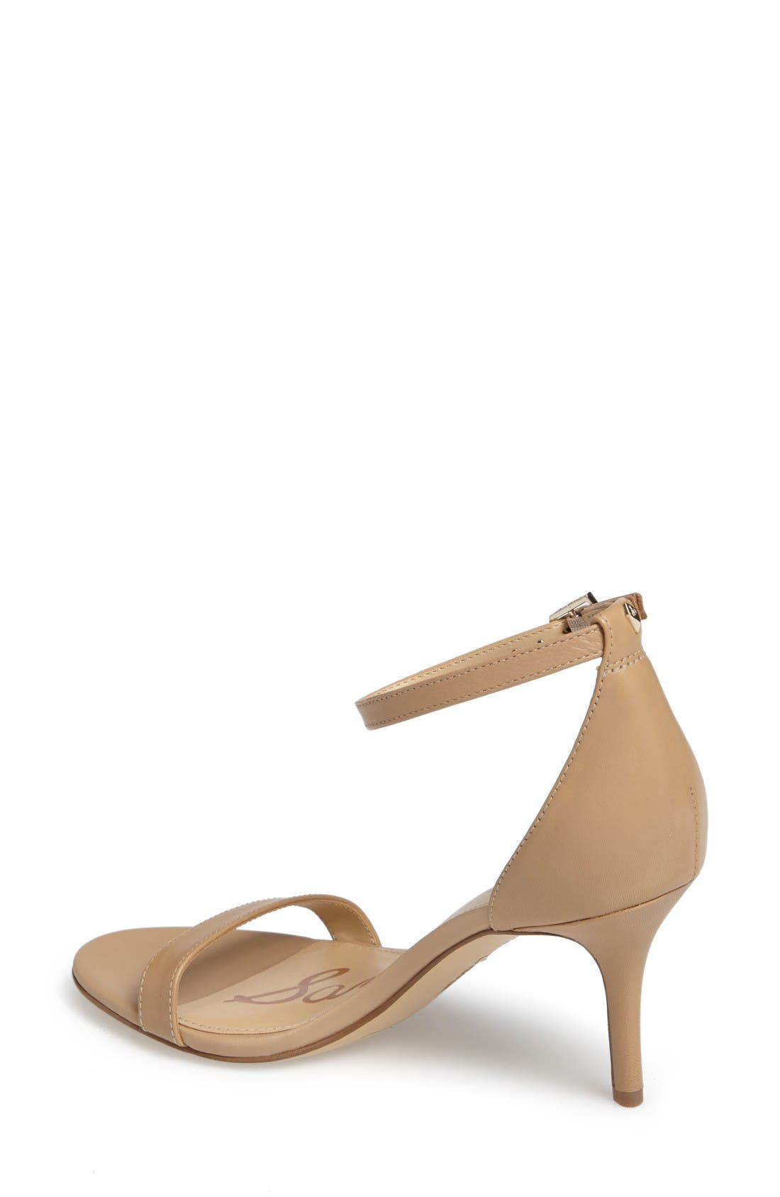 Patti Strappy Sandal,                             Alternate thumbnail 2, color,                             Classic Nude Leather