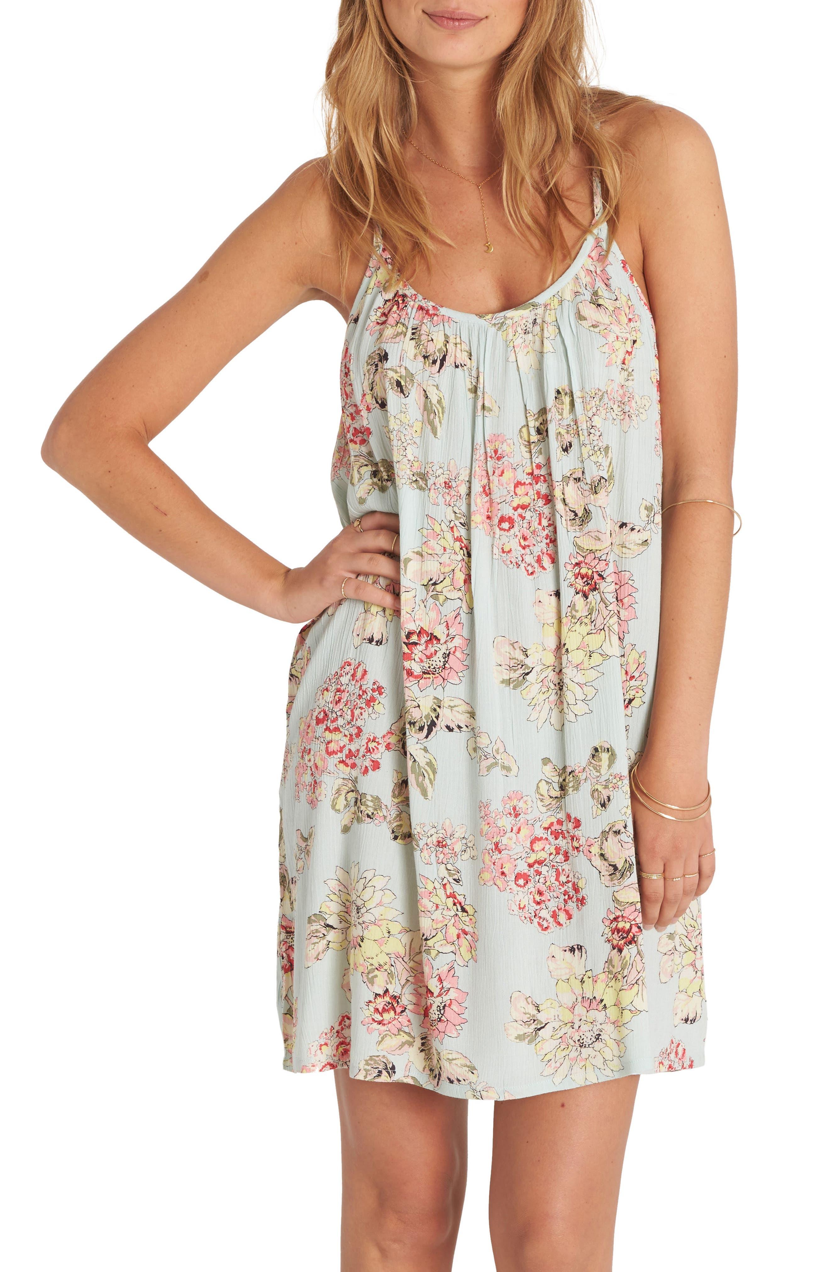 Main Image - Billabong Shining Sun Print Dress