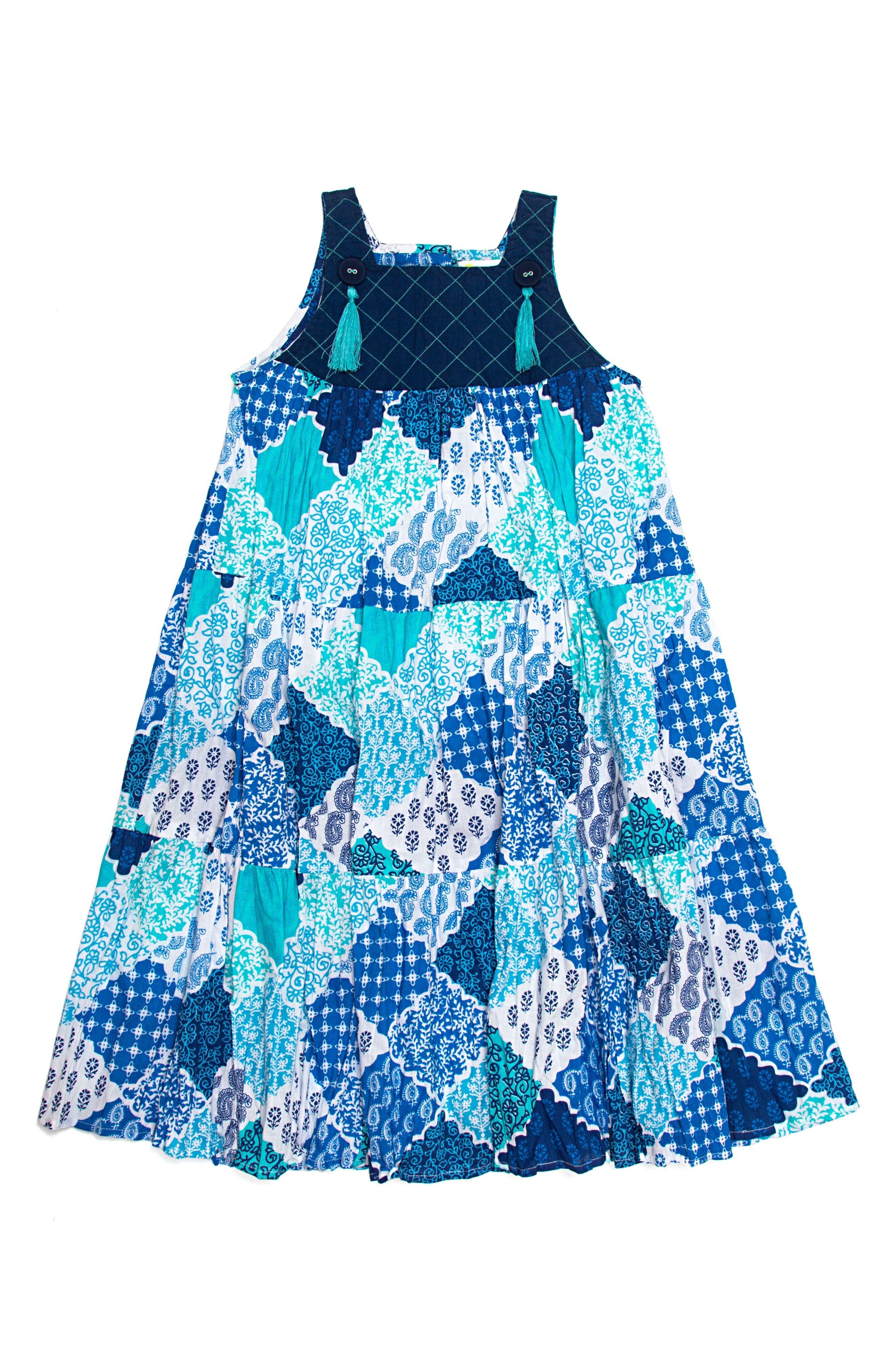 Main Image - Masalababy Ayu Dress (Toddler Girls, Little Girls & Big Girls)