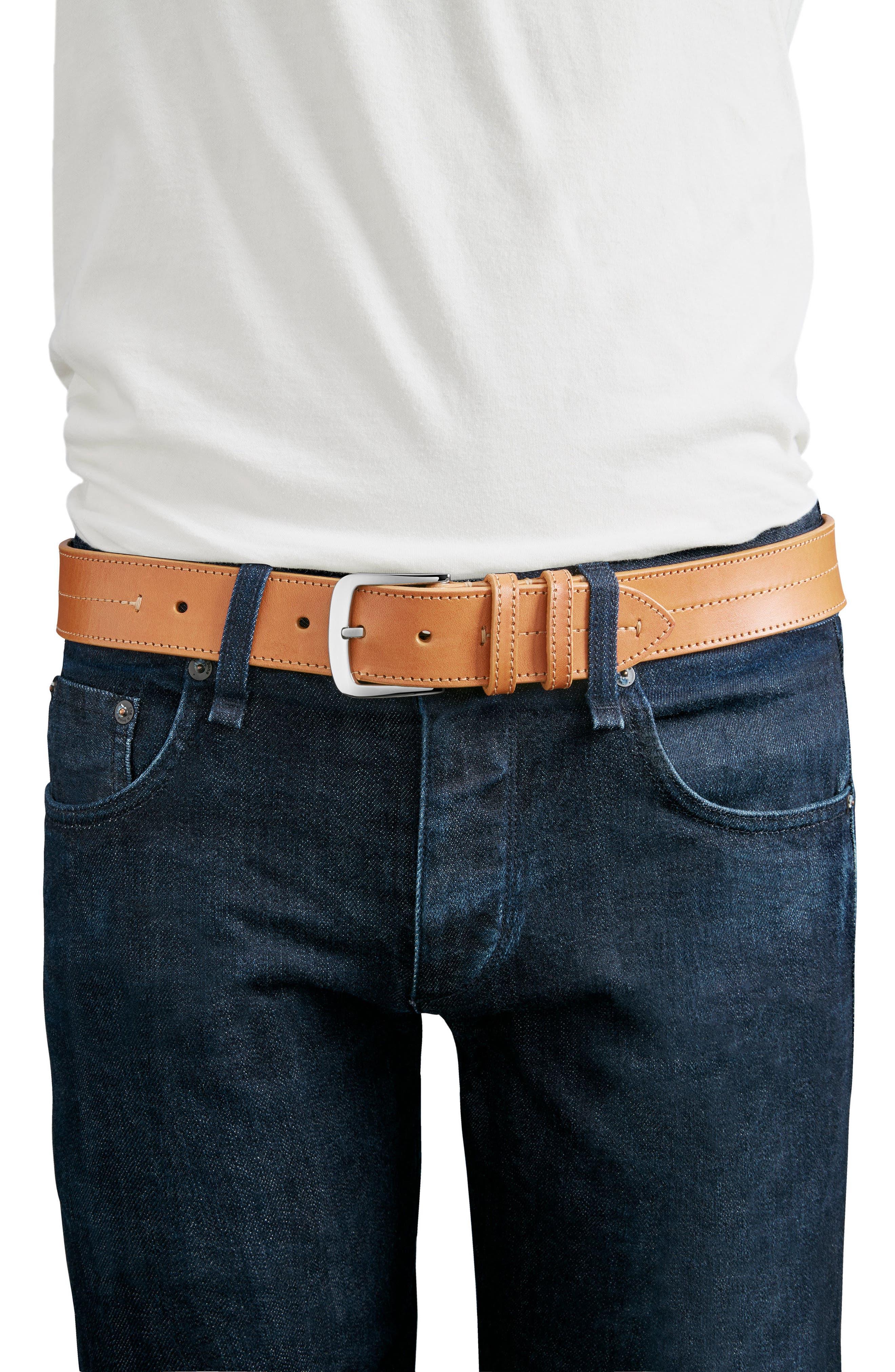 Alternate Image 4  - Shinola Leather Belt